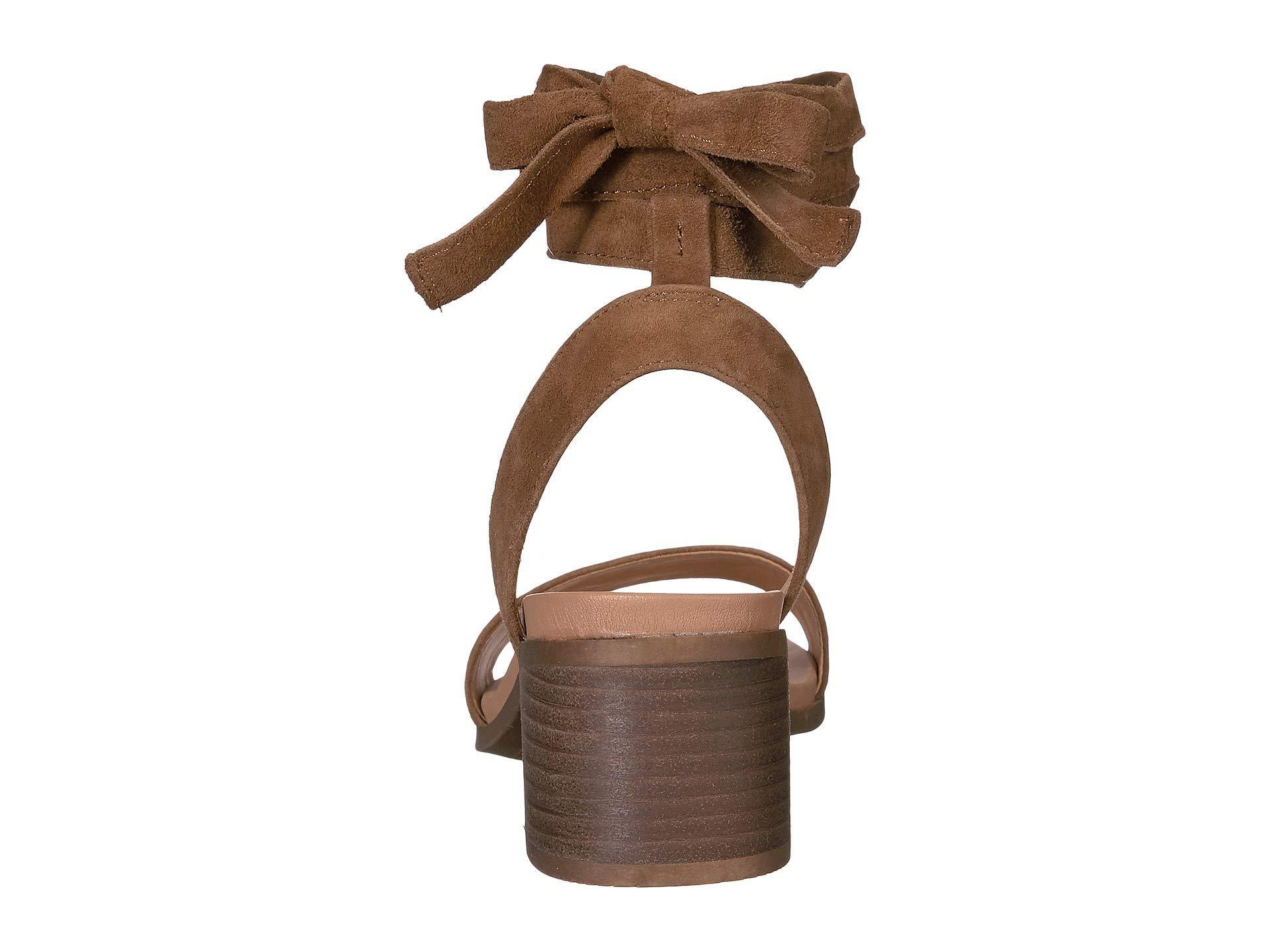 adrianne chestnut suede