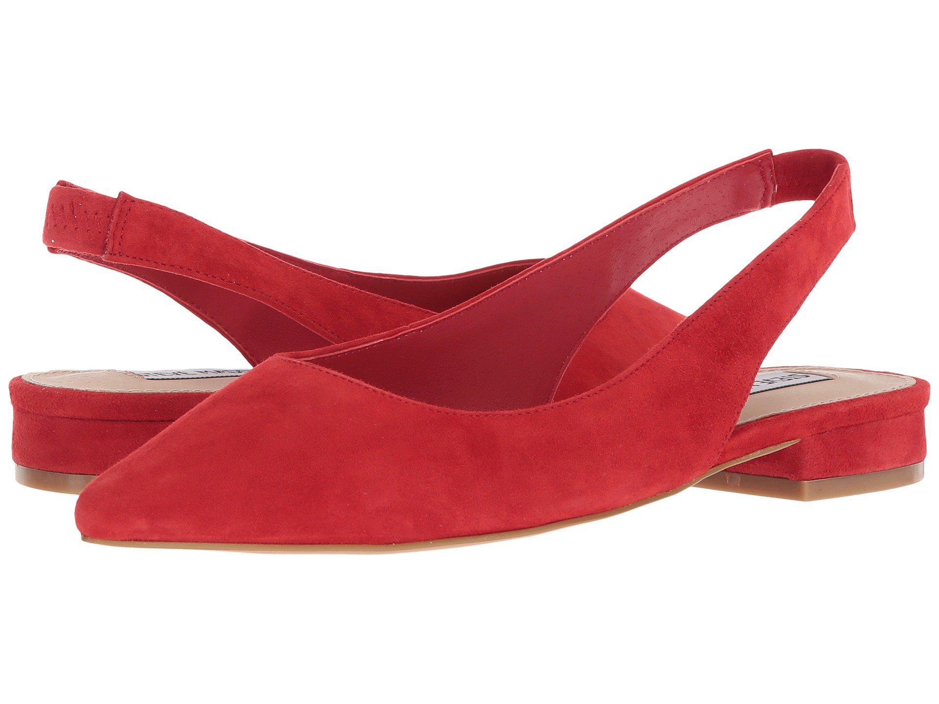a279f5763c7 Women's Red Envi Slingback Flat