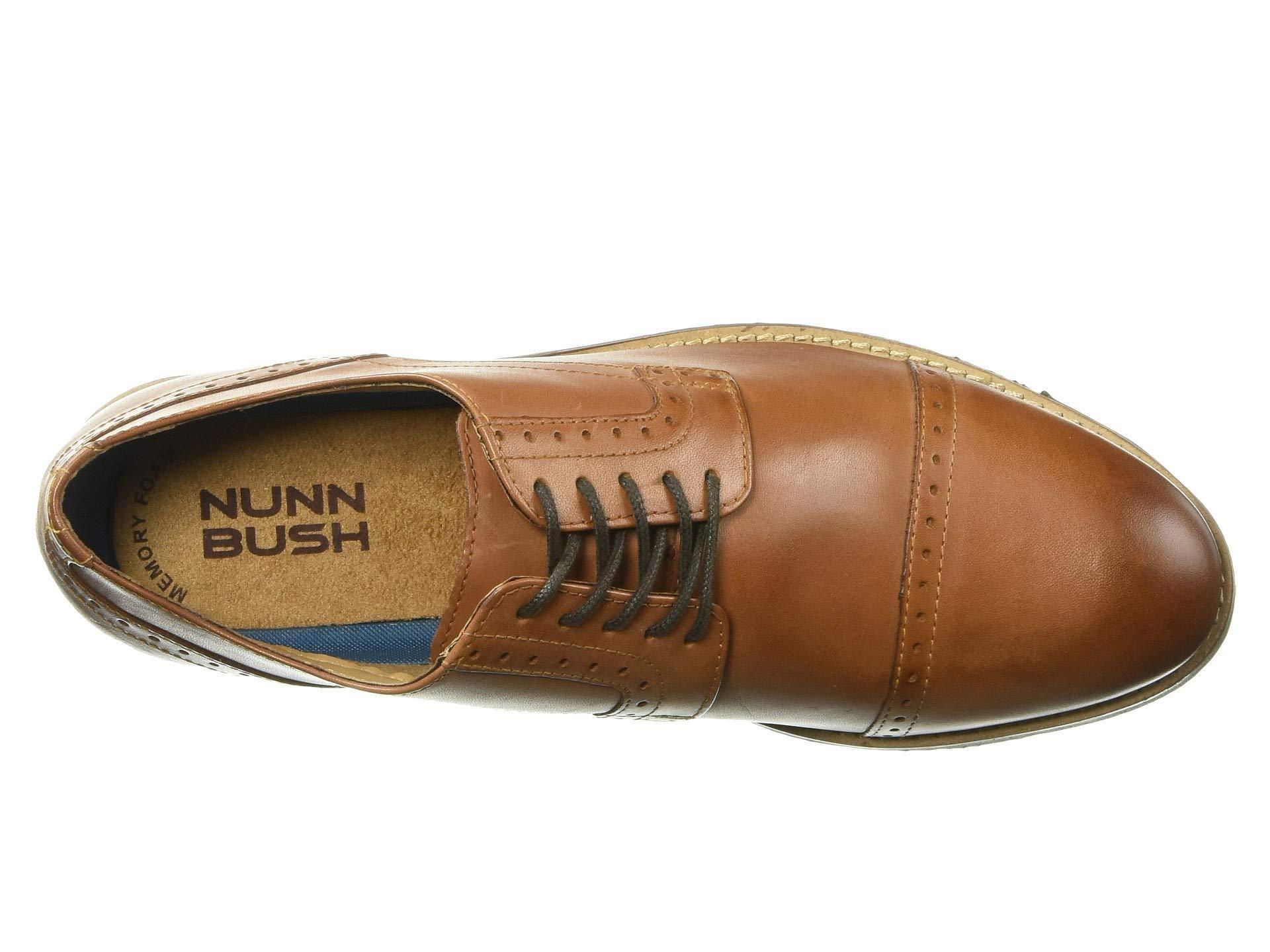 9d2af3e099986 Nunn Bush Middleton Cap Toe Oxford (cognac) Men's Shoes in Brown for ...