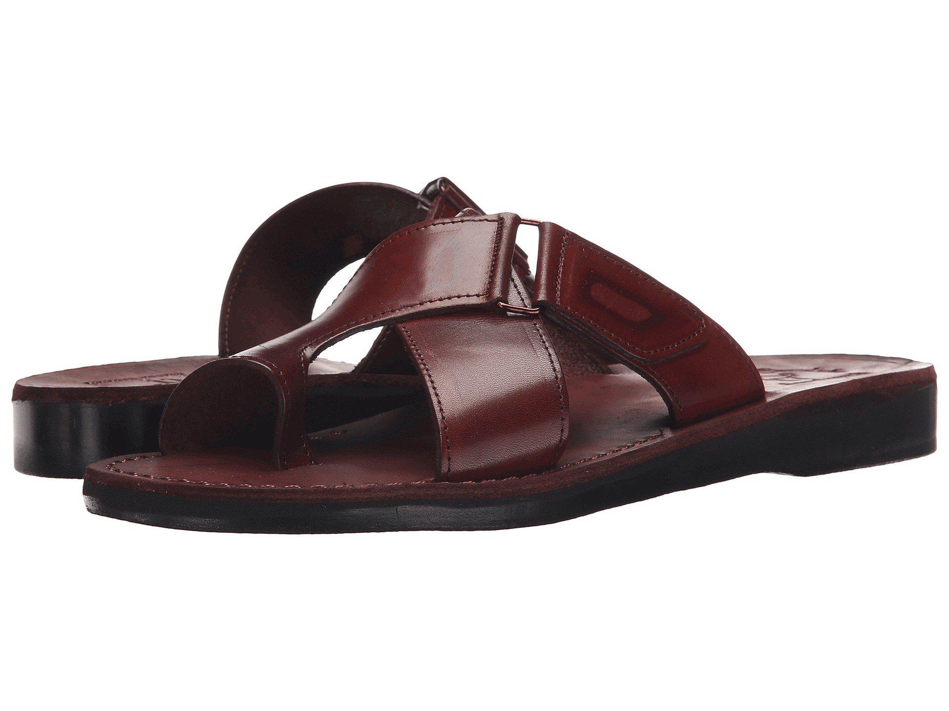 Jerusalem Sandals Asher - Mens Brown Men