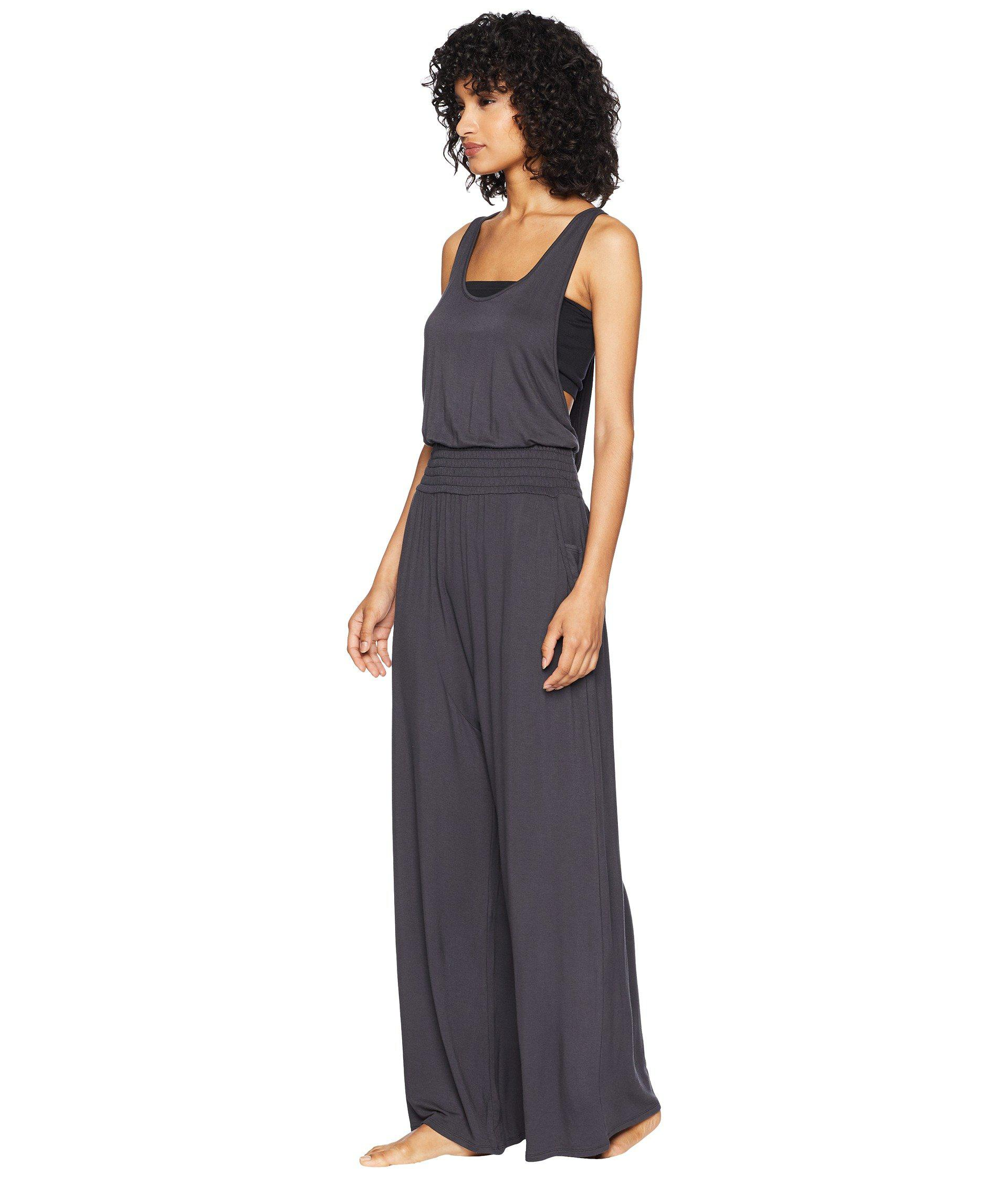 6e4f0f39c5b Lyst - Free People Maia One-piece (black) Women s Jumpsuit   Rompers One  Piece in Black - Save 38%
