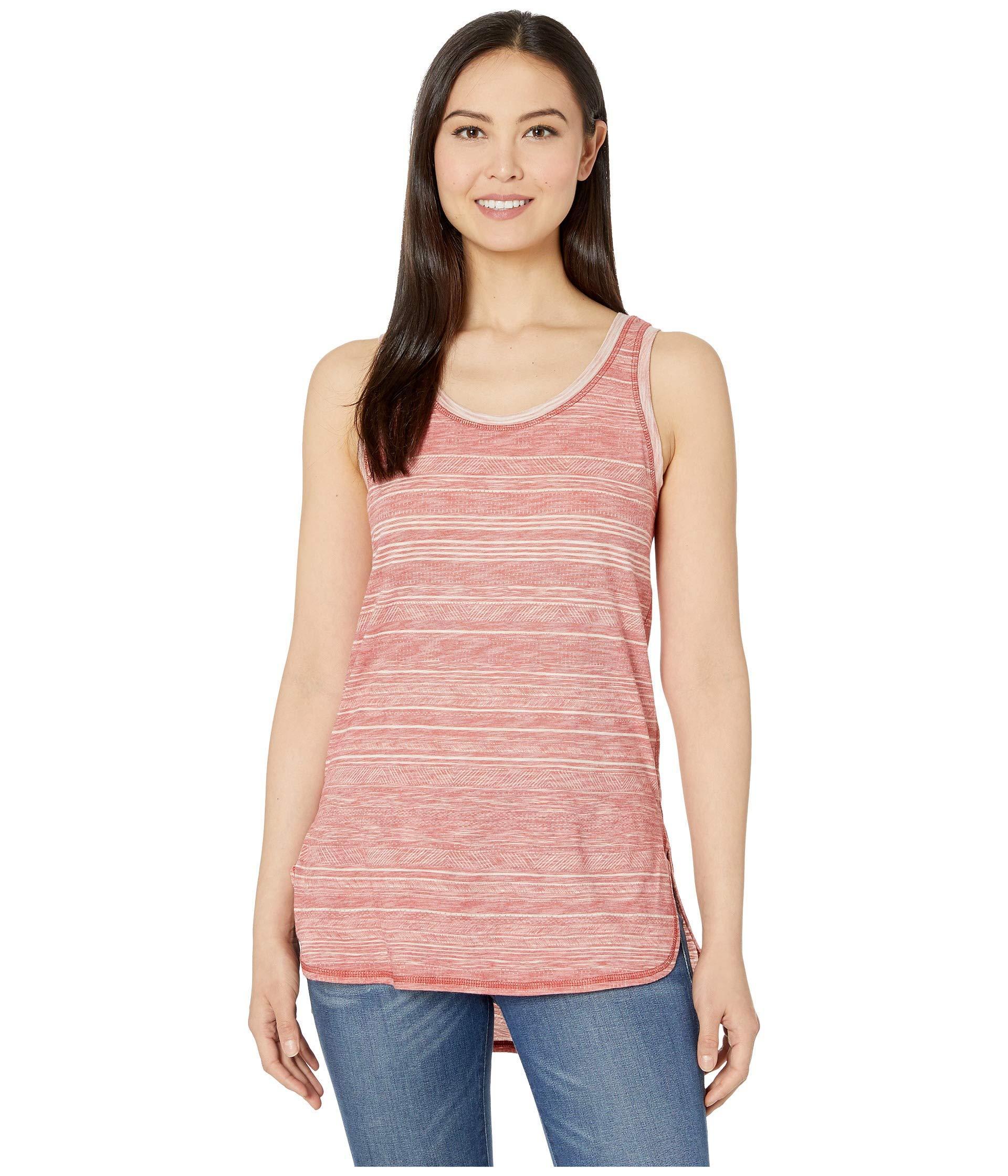 4b38f841fe266 Lyst - Prana Kiely Tunic (aloe Sand Dune) Women's Sleeveless in Pink