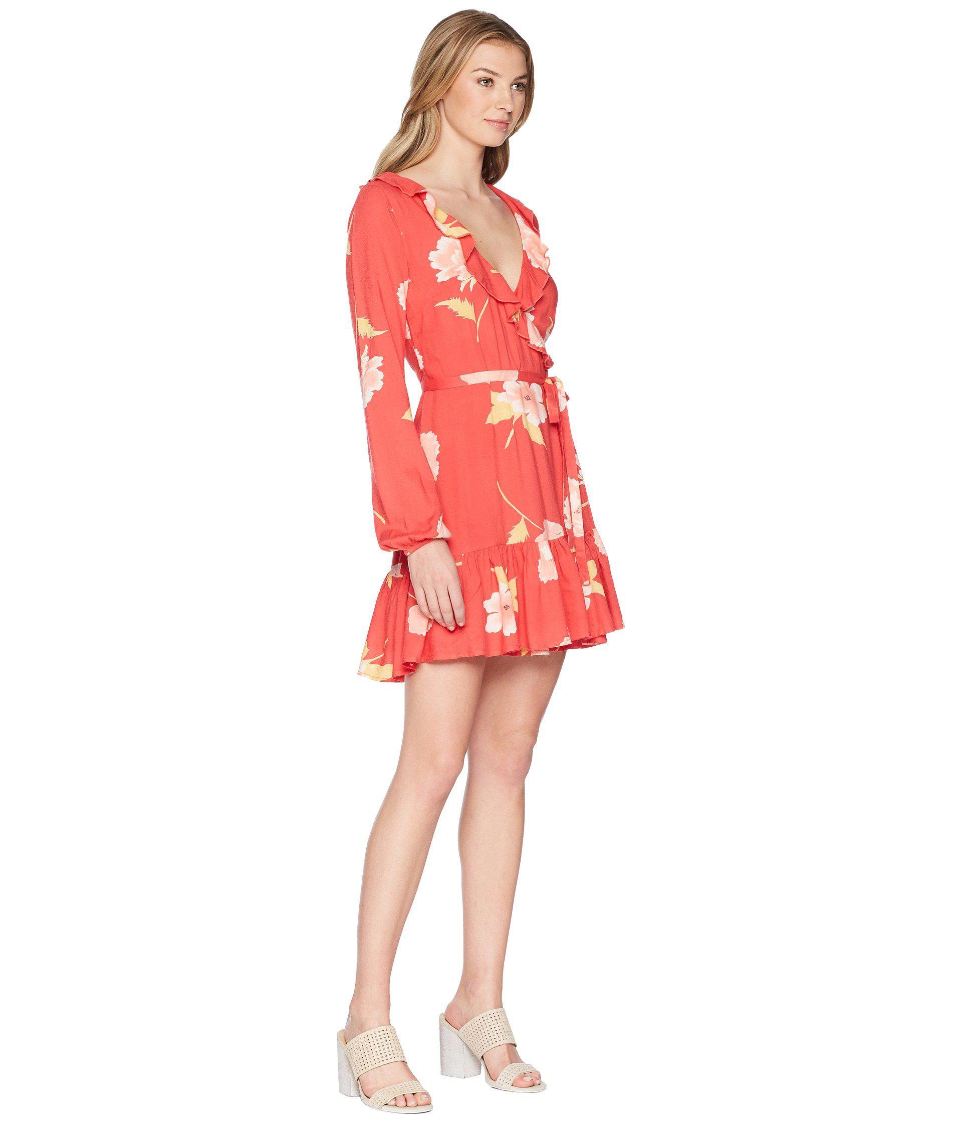 9b03e27f66 Billabong Ruff Girls Club Dress in Red - Lyst