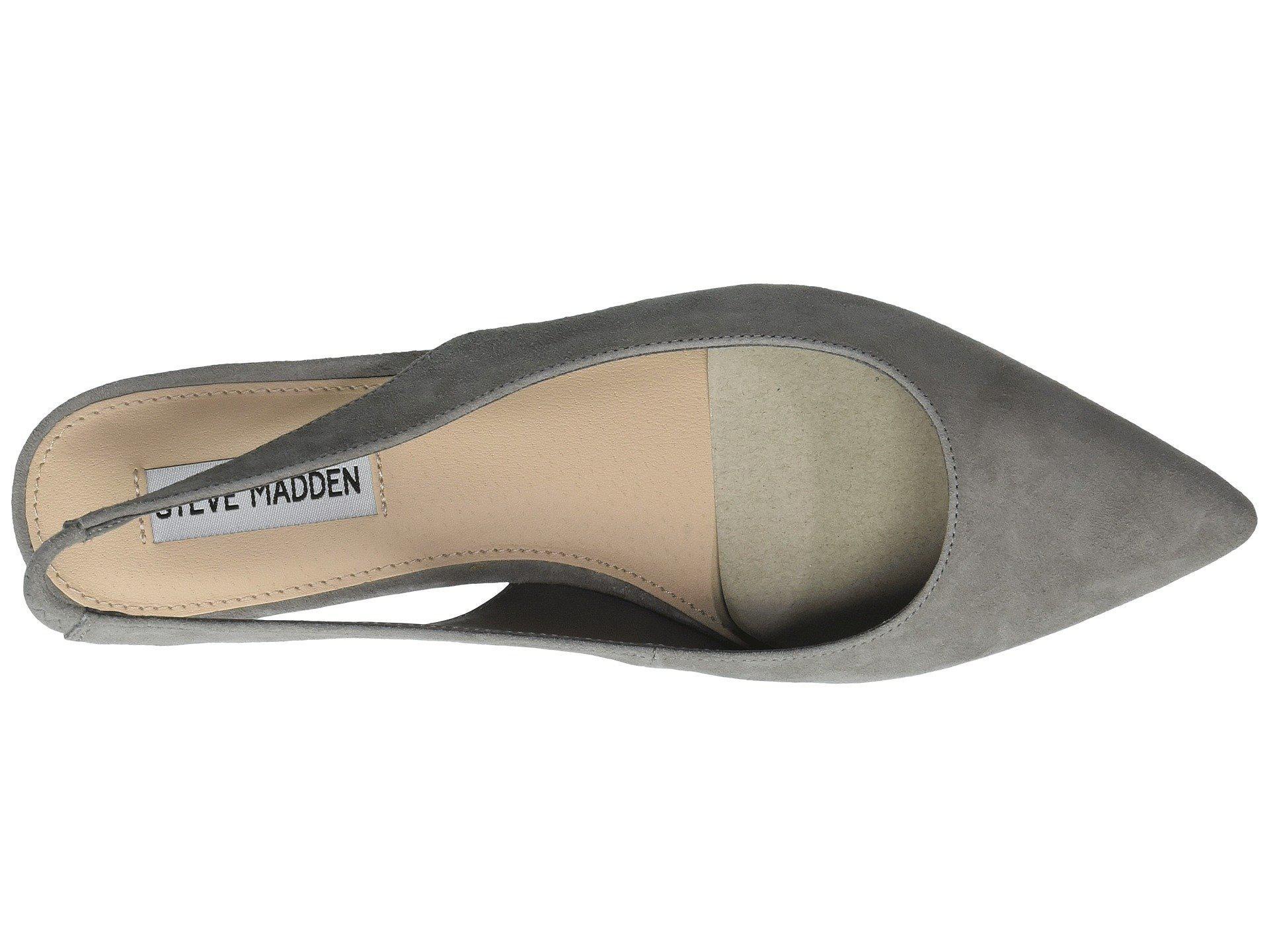 5b6b4c2adee Gray Envi Slingback Flat (taupe Suede) Women's Sling Back Shoes