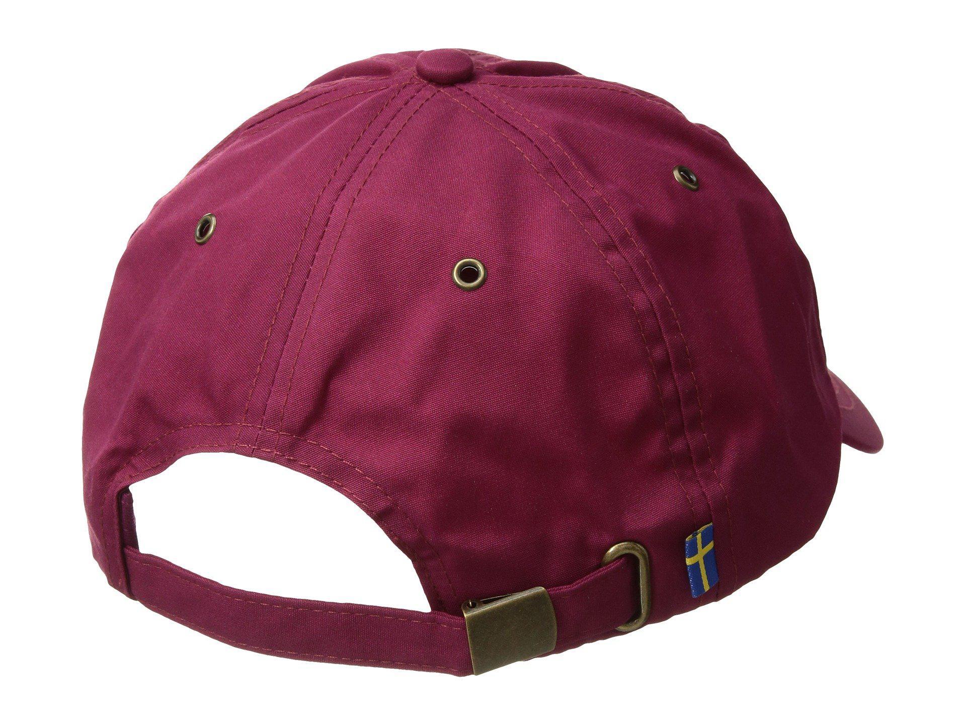 5fdd8b9cef7 Lyst - Fjallraven Helags Cap (sand) Caps in Purple for Men