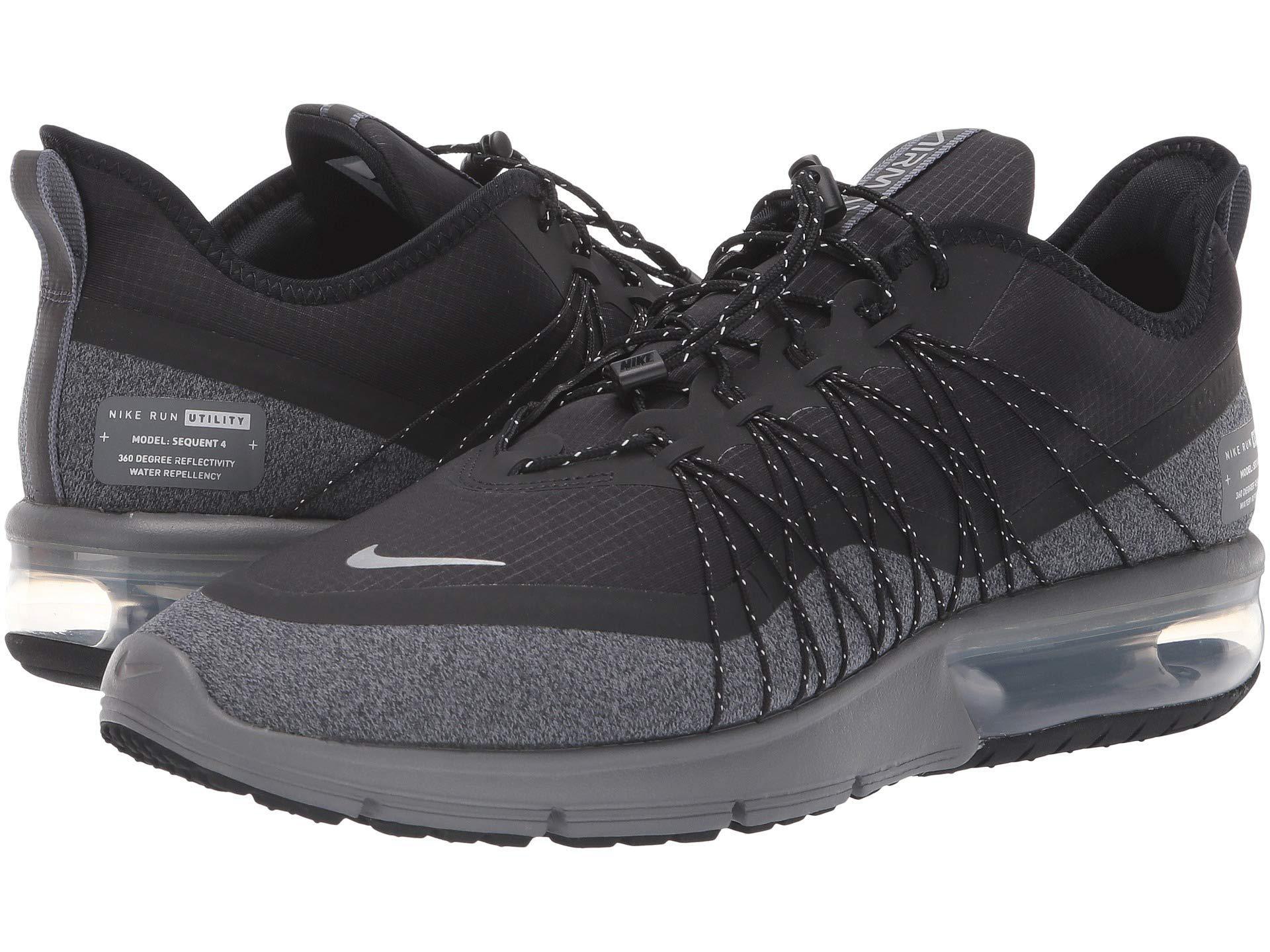 f633933dbdd11f Nike - Air Max Sequent 4 Shield (black anthracite white) Men s Running.  View fullscreen