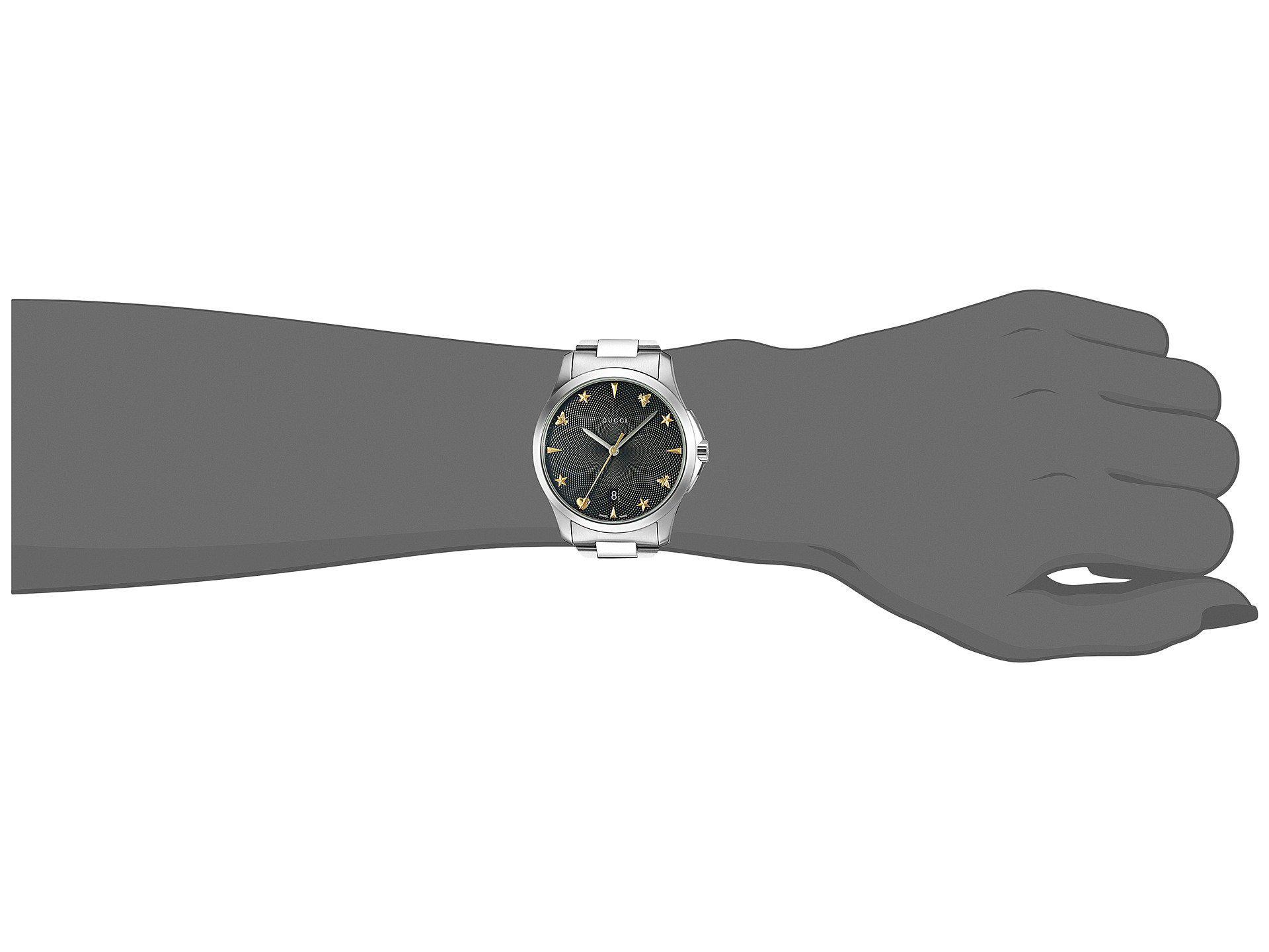 d0eed5441db Lyst - Gucci G-timeless - Ya1264029 in Metallic