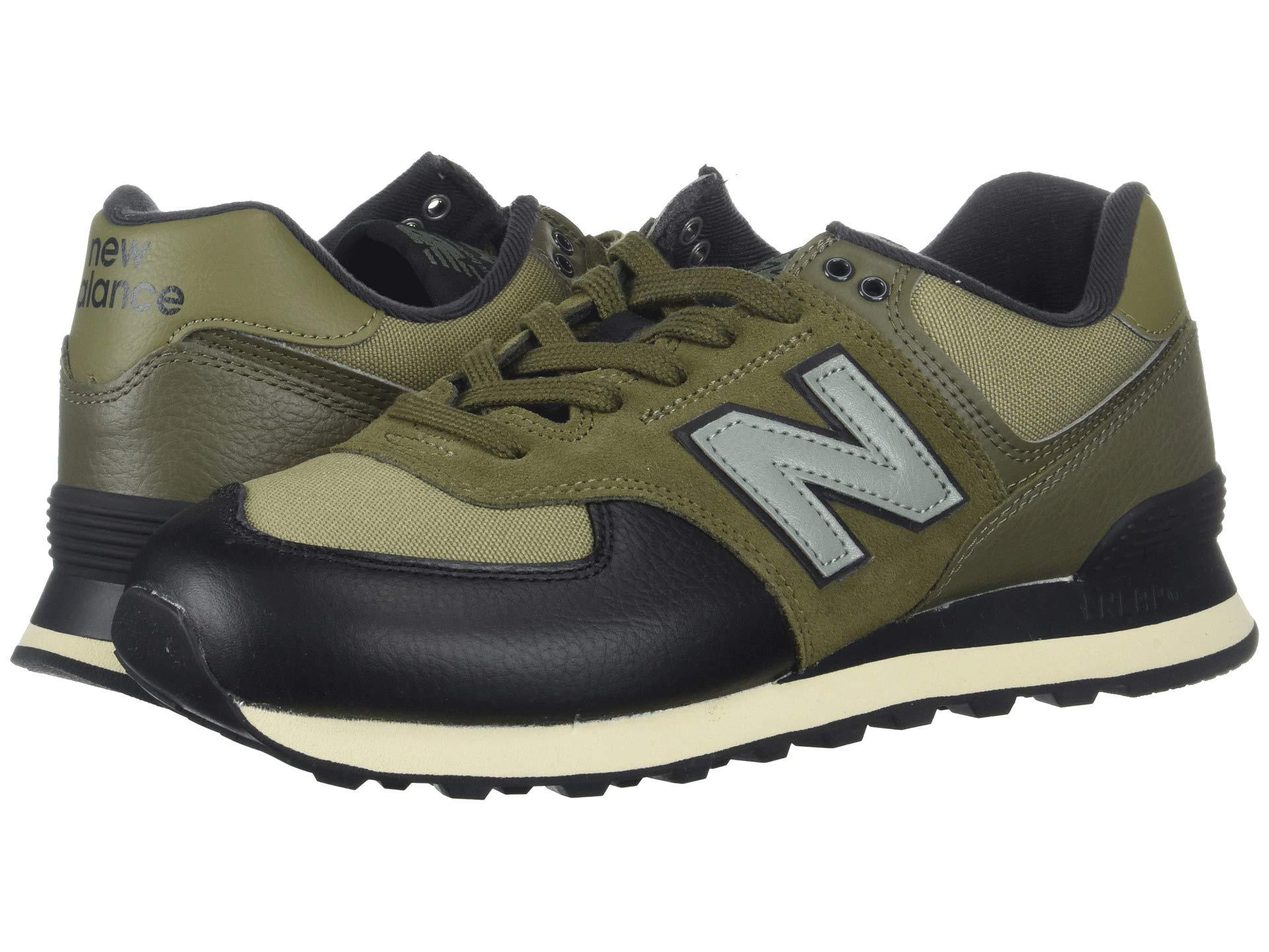 New Balance Suede Ml574v2 (covert Green