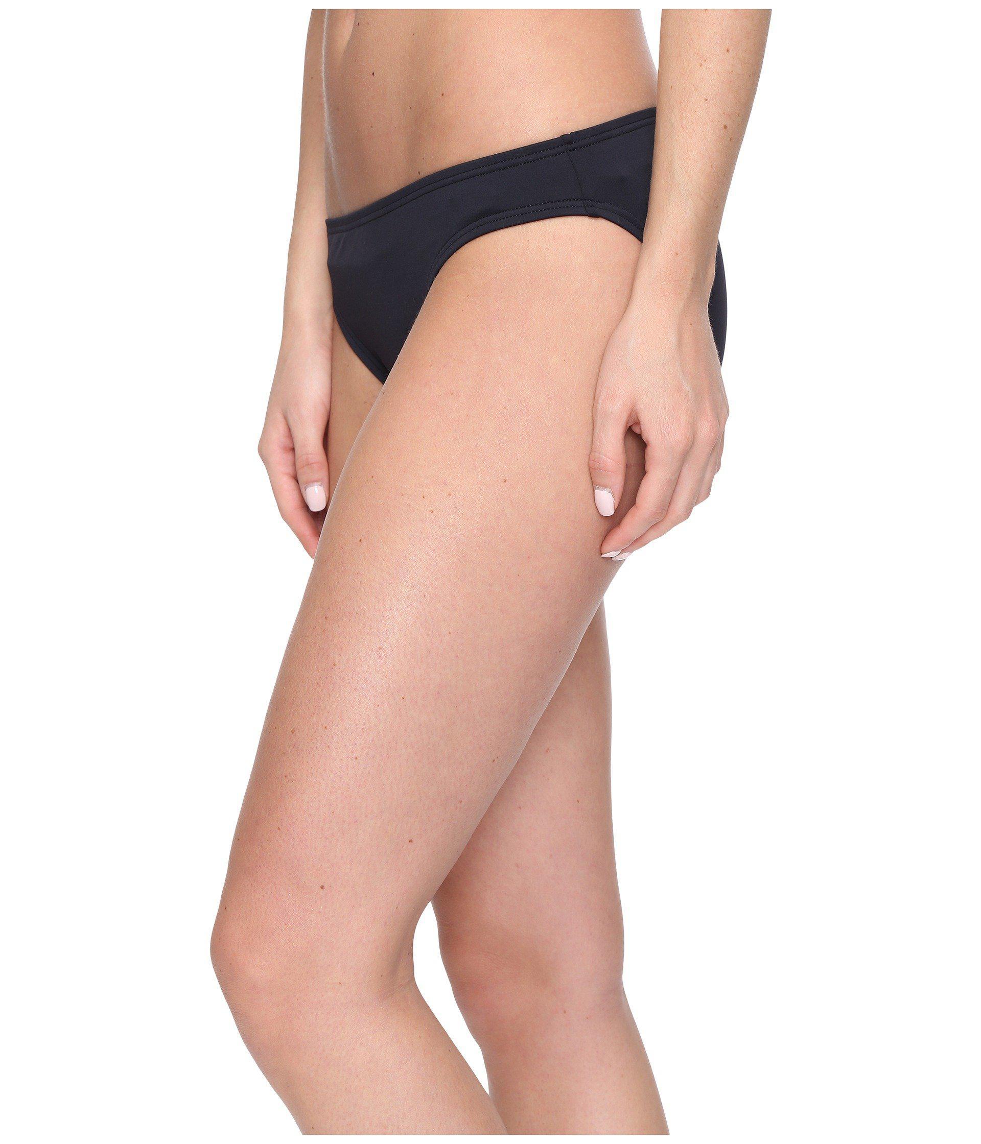 03a54b04c7e59 Lyst - Michael Michael Kors Villa Del Mar Classic Bikini Bottom (black)  Women s Swimwear in Black