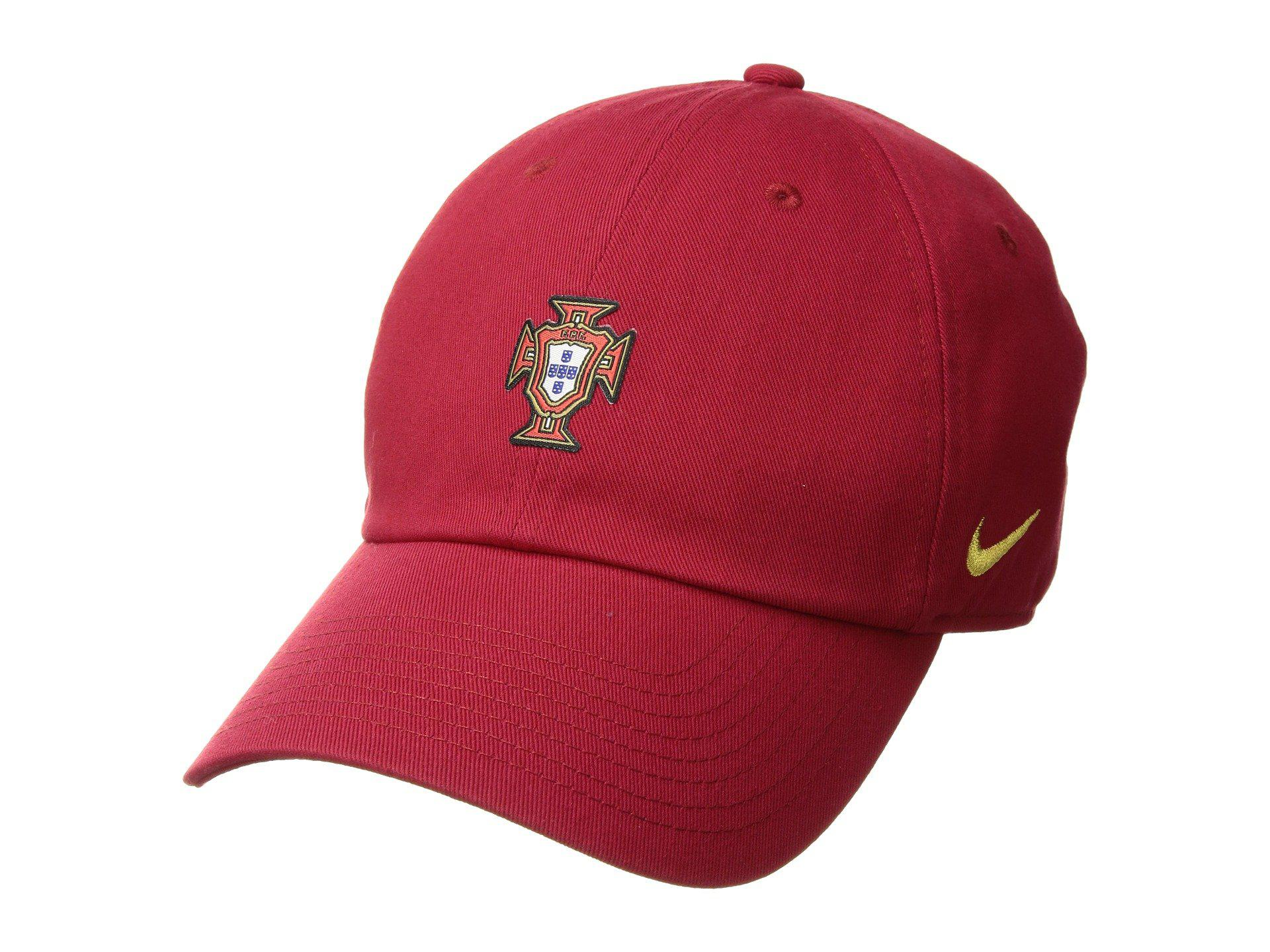 Lyst - Nike Fpf Portugal Heritage 86 Cap Core in Red for Men 11a8b9aee2c