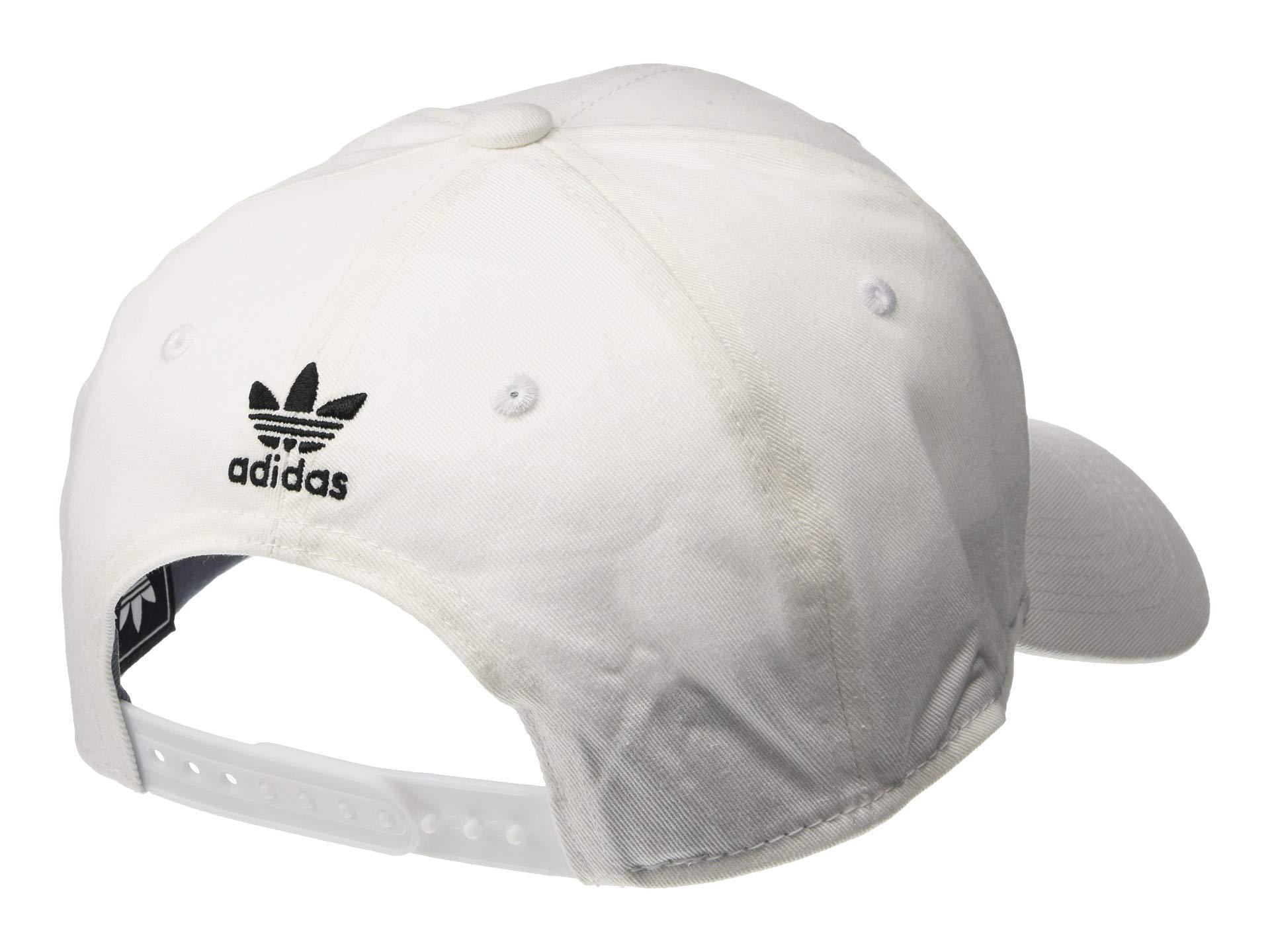 37b95c42c20 Adidas Originals - White Relaxed Strapback Cap for Men - Lyst. View  fullscreen