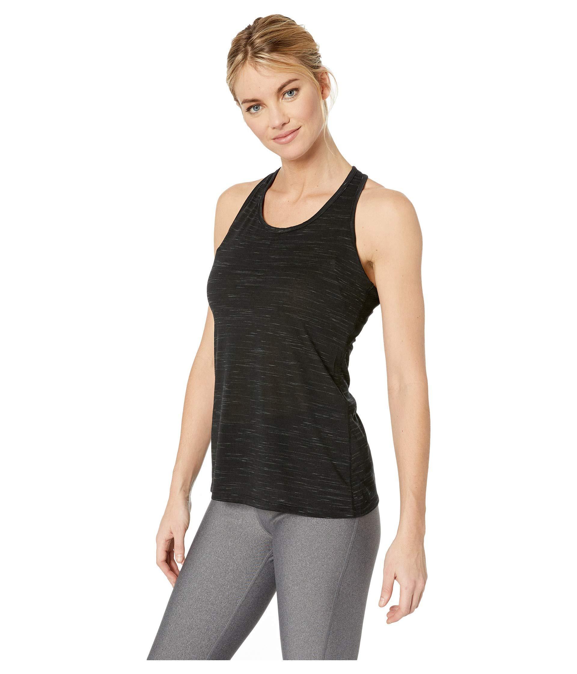 77cb4c34 Nike Dry Legend Veneer Balance Tank (pink Rise/heather/white) Women's  Sleeveless in Black - Lyst