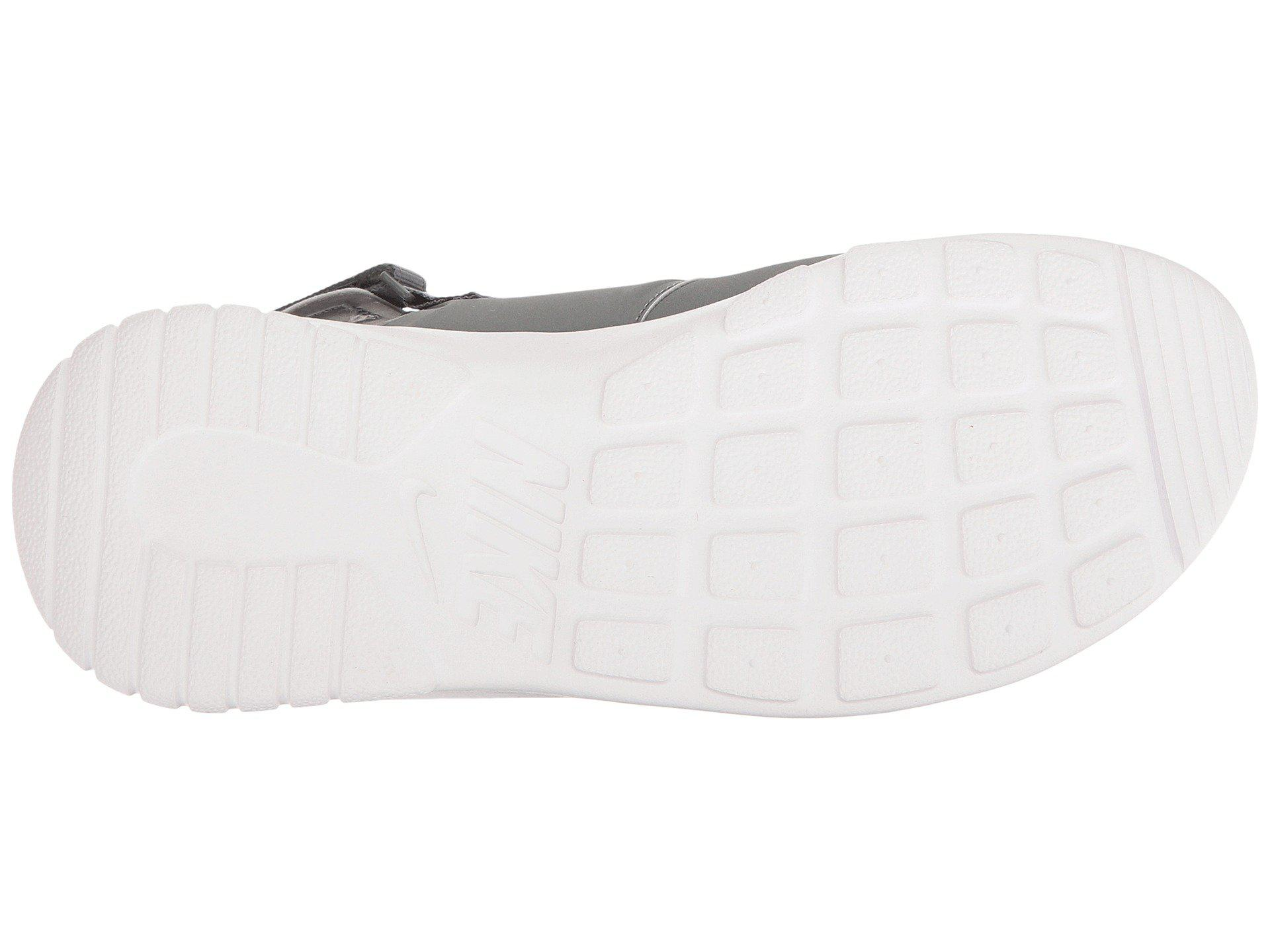 5eb586bc77875e Lyst - Nike Tanjun Sandal (black black white) Women s Shoes in Gray
