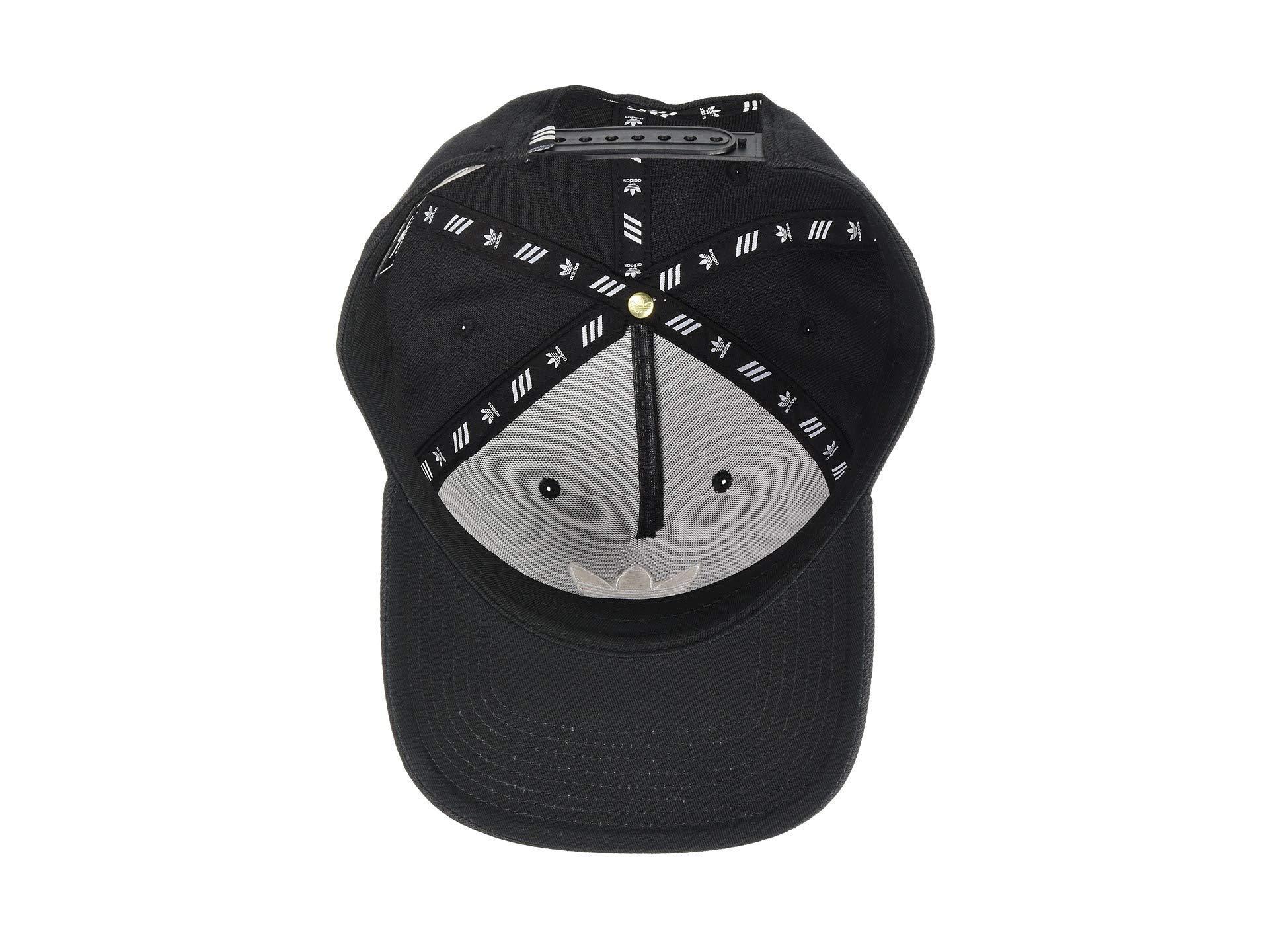 Adidas Originals - Originals Dart Precurve Snapback (black white) Caps for  Men -. View fullscreen ff3be91e2