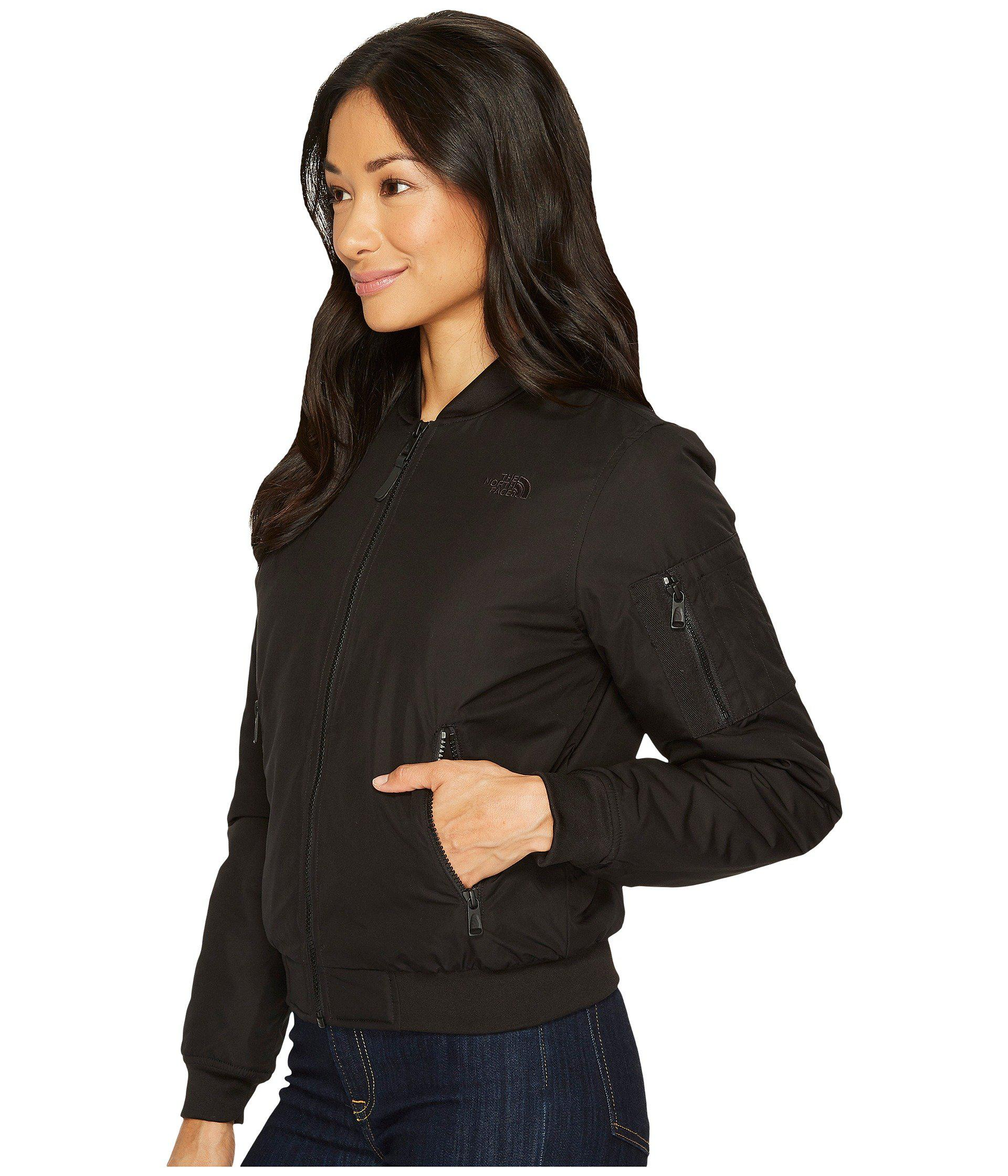d327aa43d The North Face Black Barstol Bomber