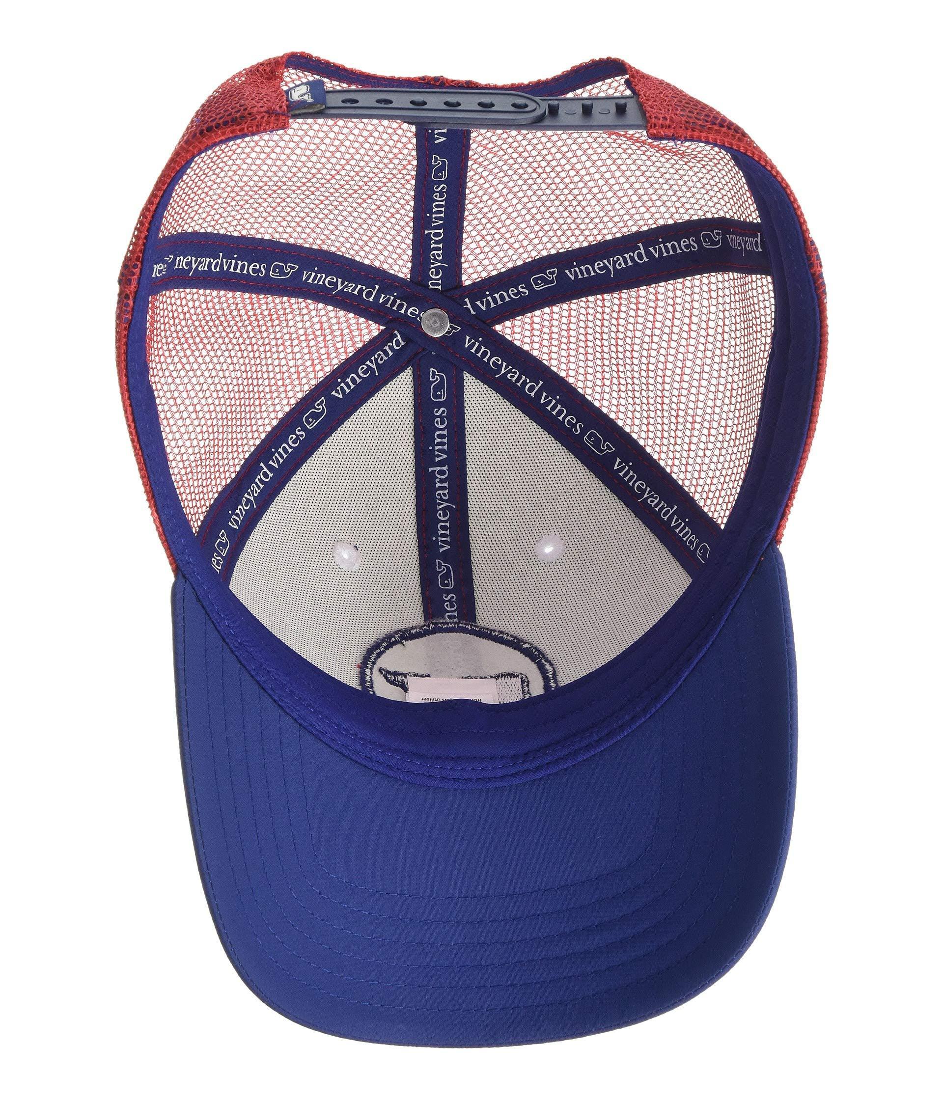 Vineyard Vines - Blue Whale Dot Performance Trucker Hat (multi) Caps for Men  -. View fullscreen b163d8d41c9b