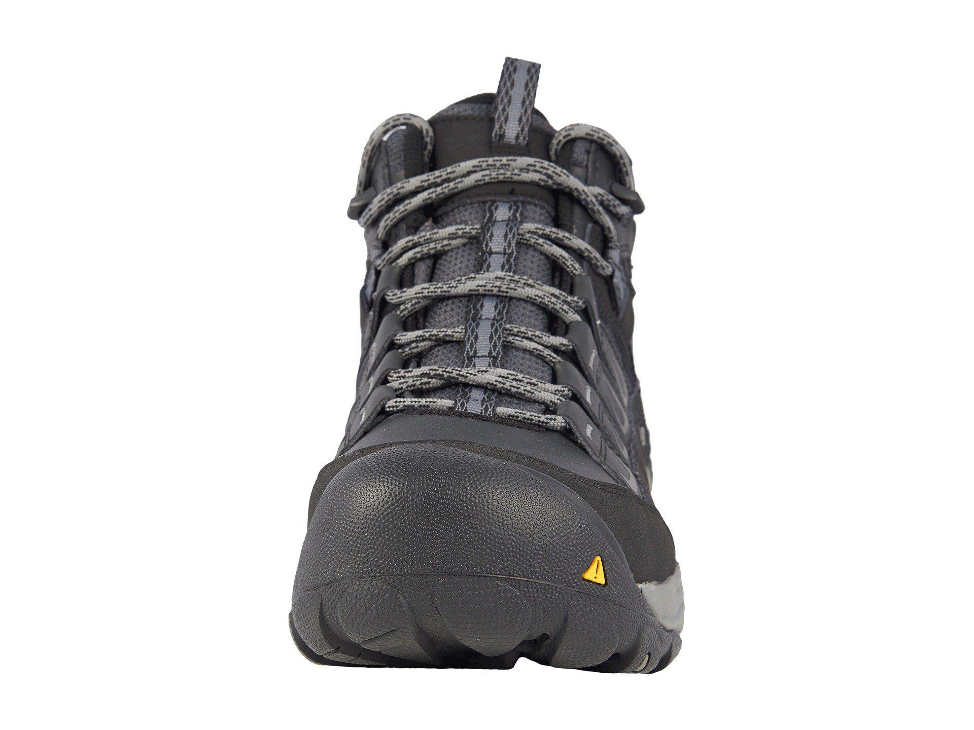 7257716e1df Keen Utility - Multicolor Boulder Mid Waterproof Steel Toe (magnet gargoyle)  Men s Waterproof. View fullscreen