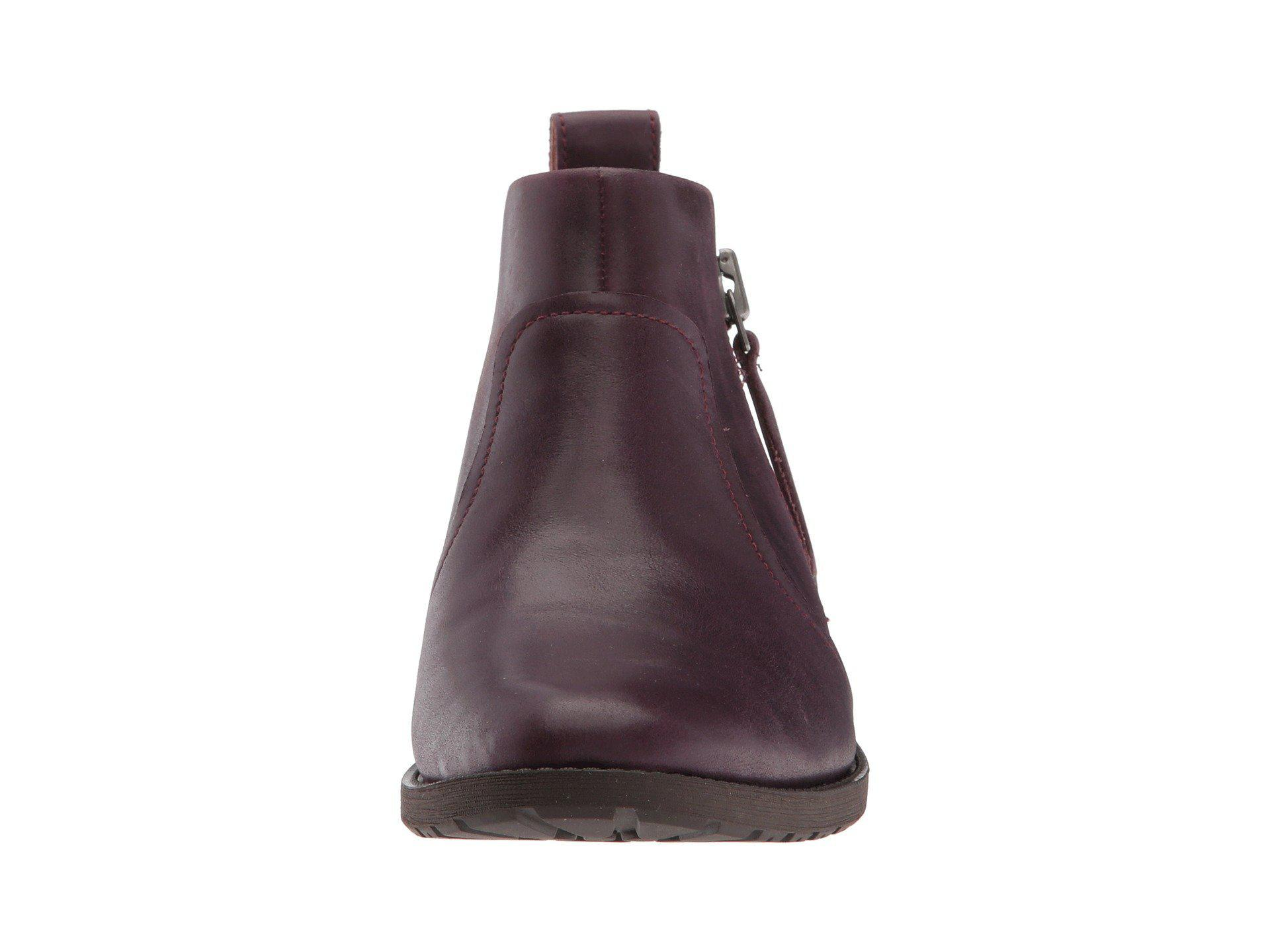 48638fa2a0d Ugg Multicolor Aureo Boot (oxblood Leather) Women's Zip Boots