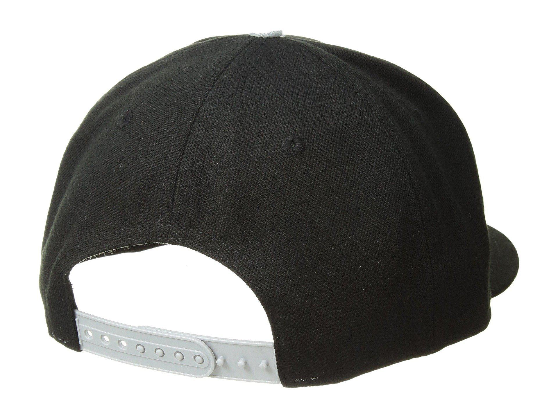 6bc8127233a KTZ - Oakland Raiders Pinned Snap (black) Baseball Caps for Men - Lyst.  View fullscreen