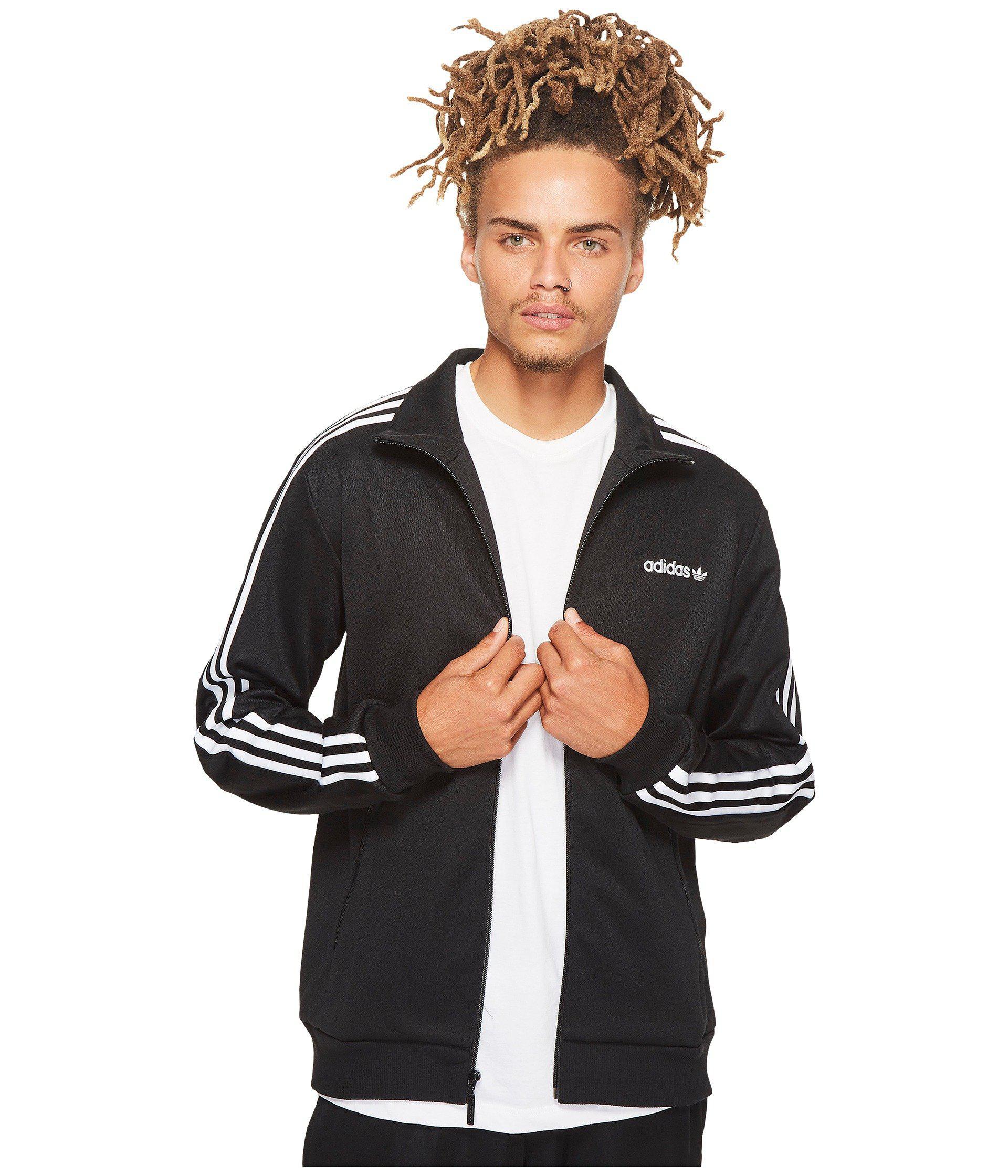 34c2106a58f6 Lyst - Adidas Originals Beckenbauer Track Jacket (black white) Men s ...