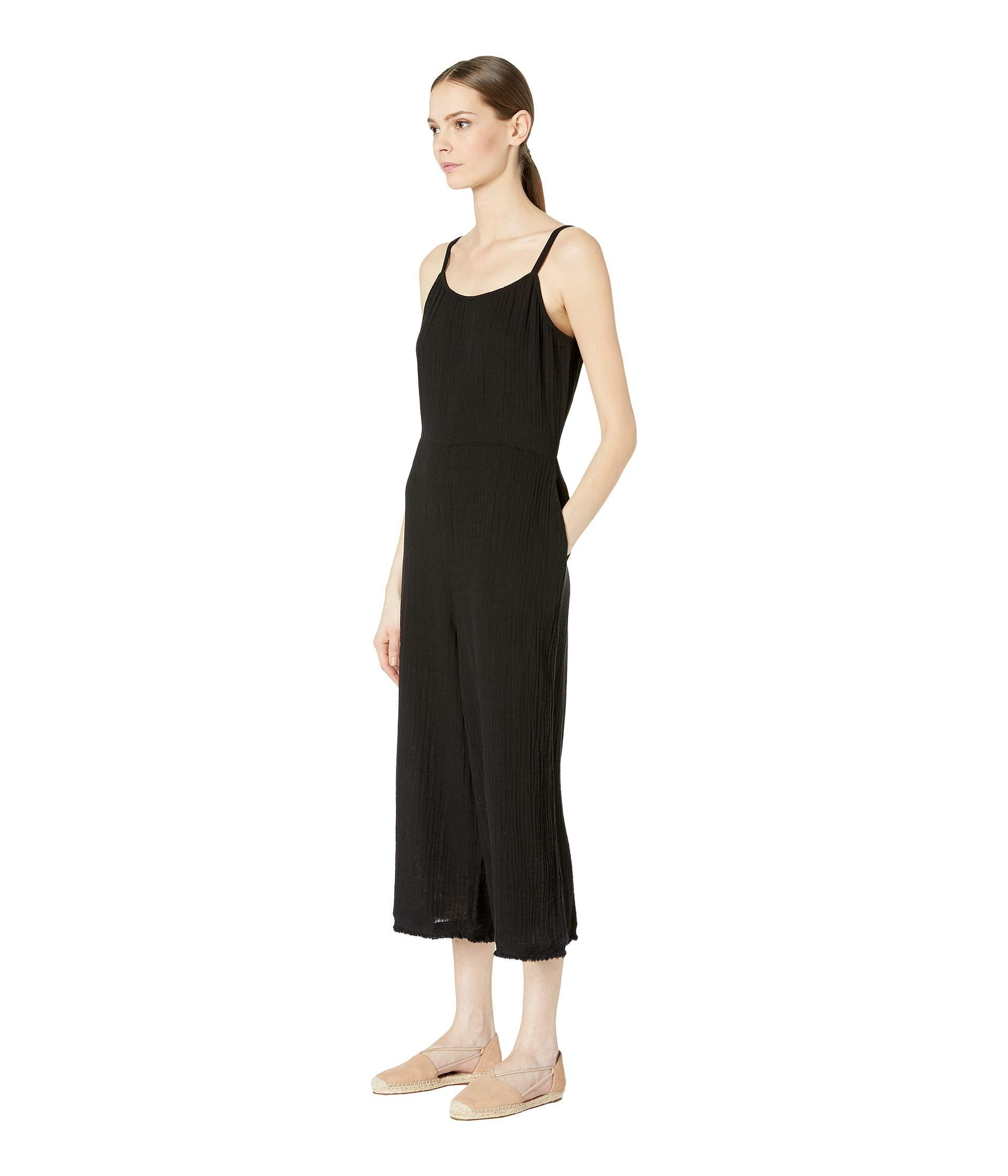 7112c04d43a008 Lyst - Eileen Fisher Cami Jumpsuit (black) Women s Jumpsuit   Rompers One  Piece in Black
