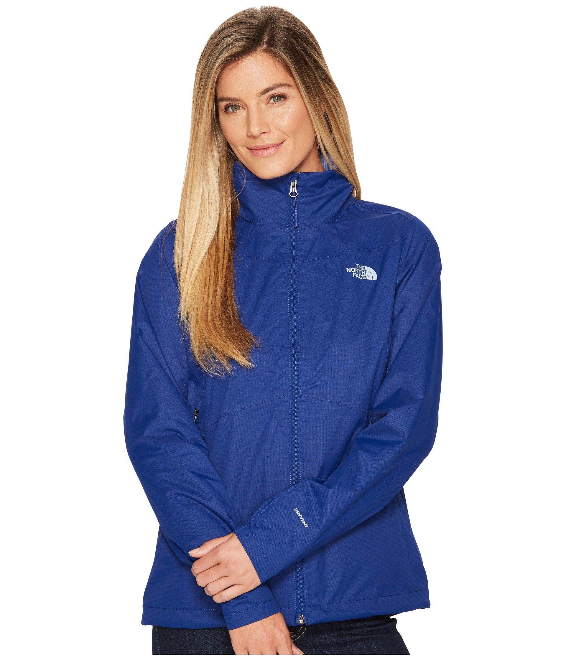 78a98d52c Blue Resolve Plus Jacket (mid Grey/tnf Black (prior Season)) Women's Coat