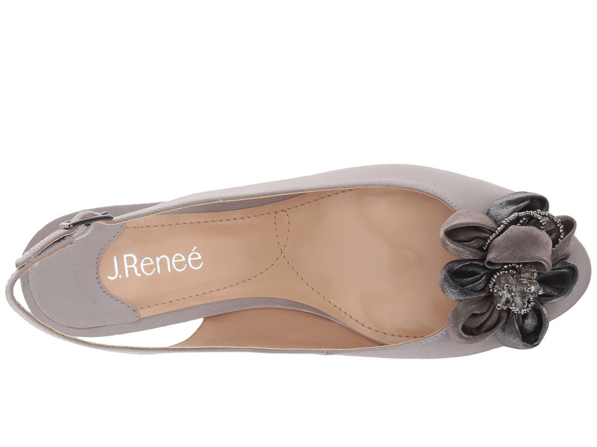 6797a99b779 J. Reneé - Gray Leonelle (black) Women s Shoes - Lyst. View fullscreen