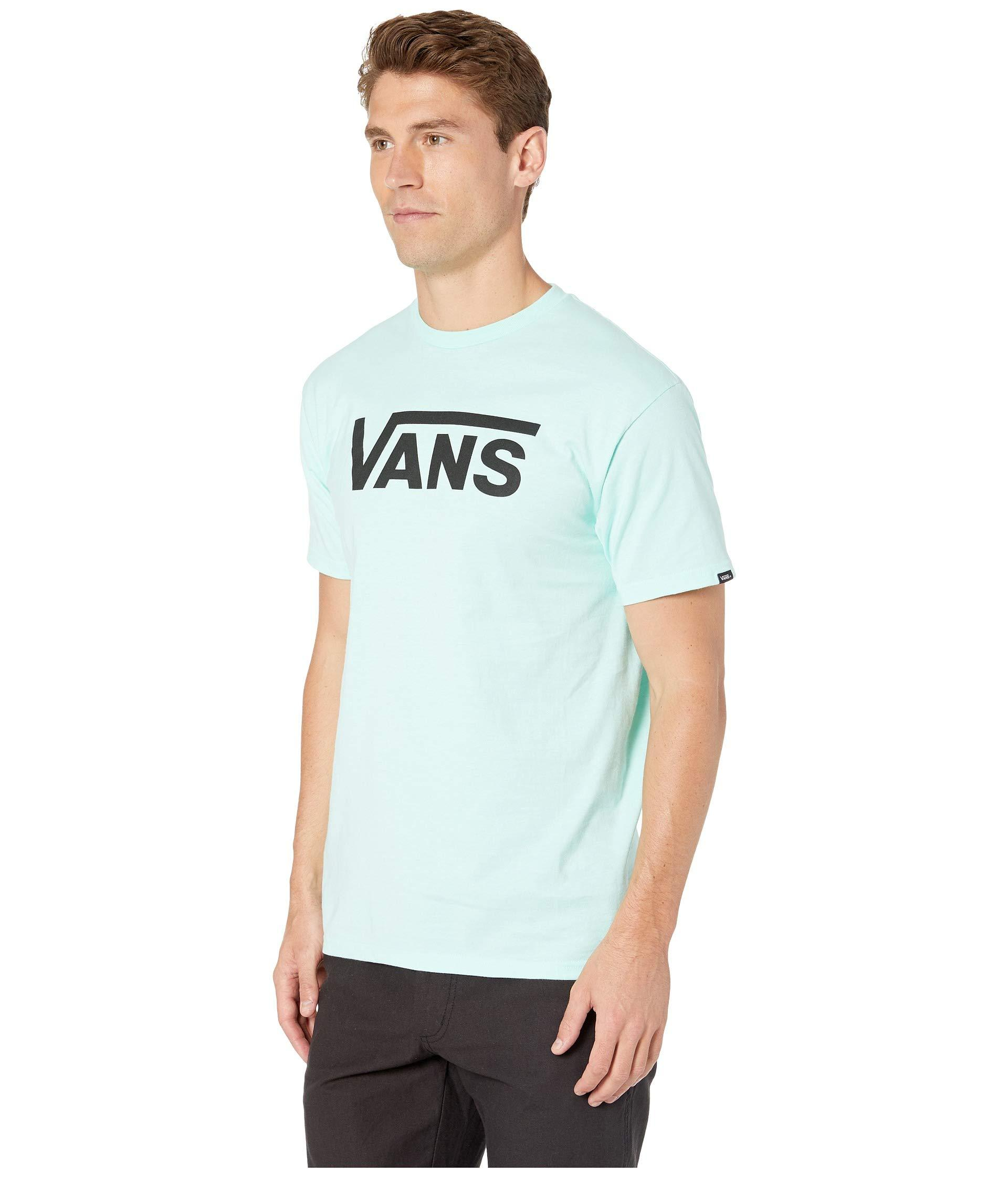 6d78ad324fe510 Lyst - Vans Classic Tee (athletic Heather/black) Men's Short Sleeve Pullover  for Men