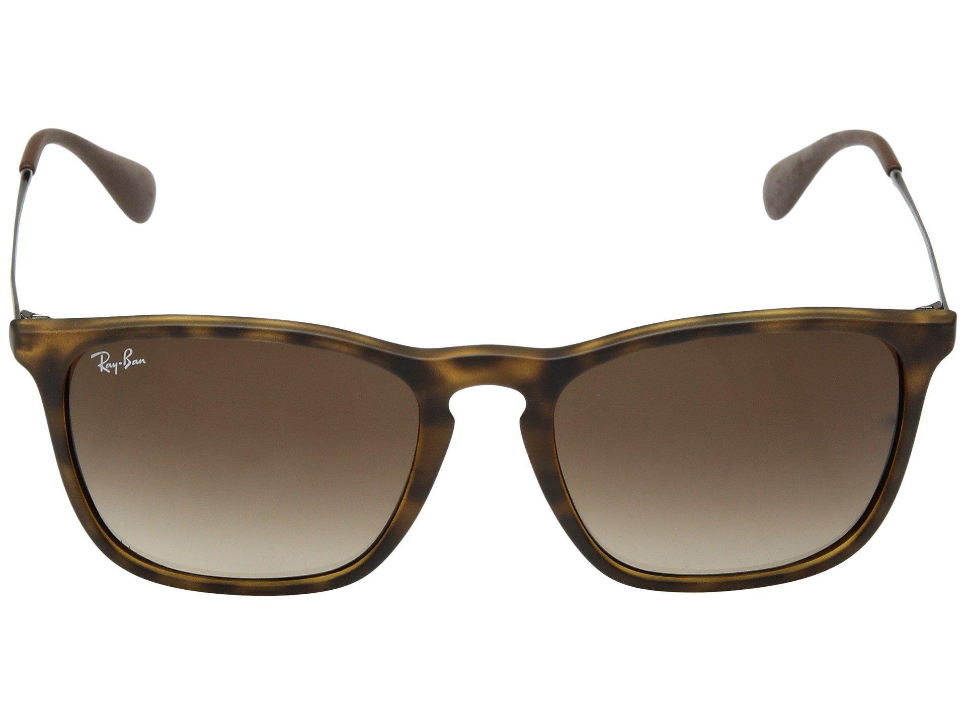 06ab3f43b8442 Ray-Ban Rb4187 Square Keyhole Youngster 54mm (rubber havana) Fashion ...