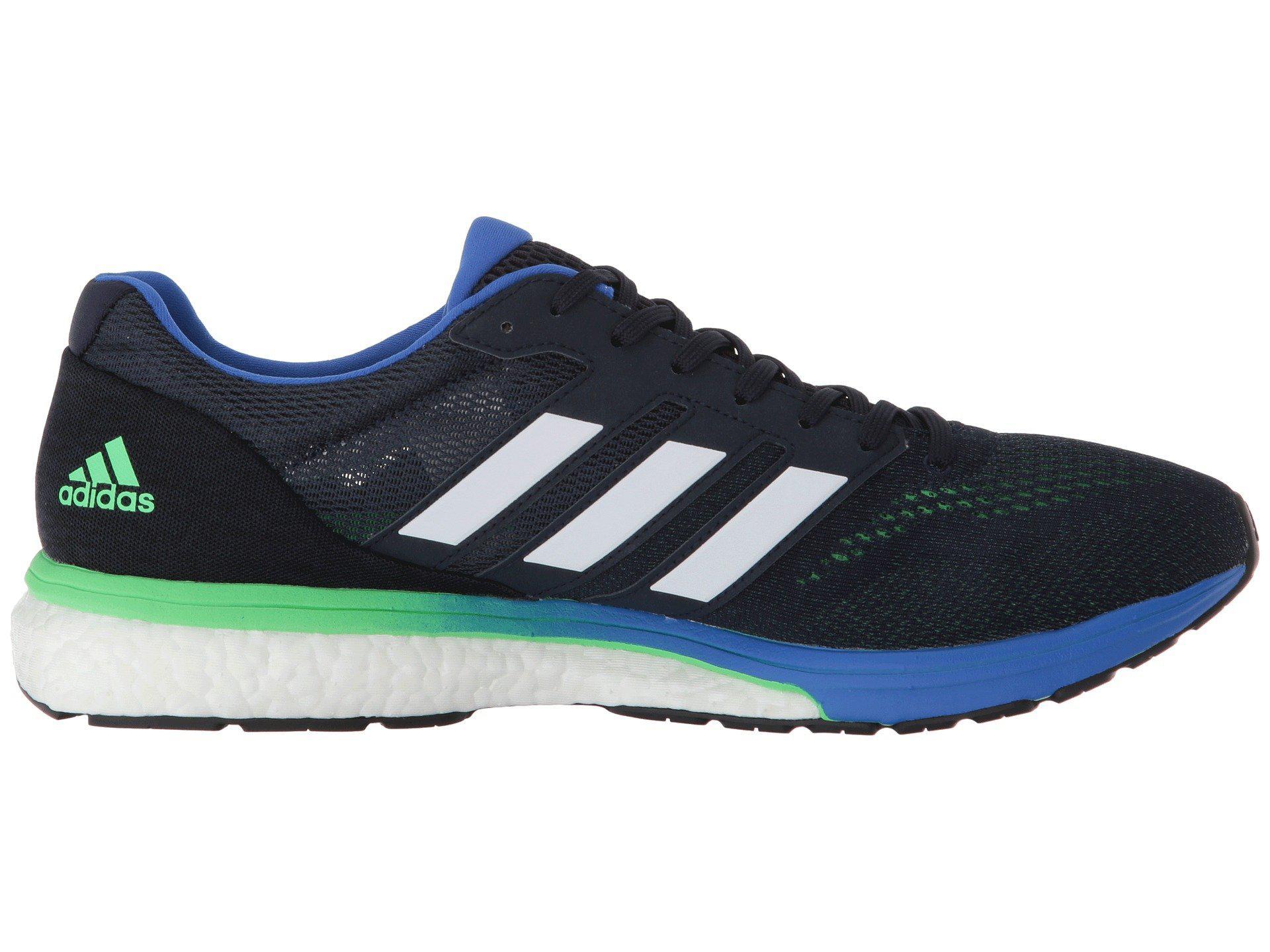 Adidas Men's Running Adizero Boston 7 Shoes Blue   Adidas