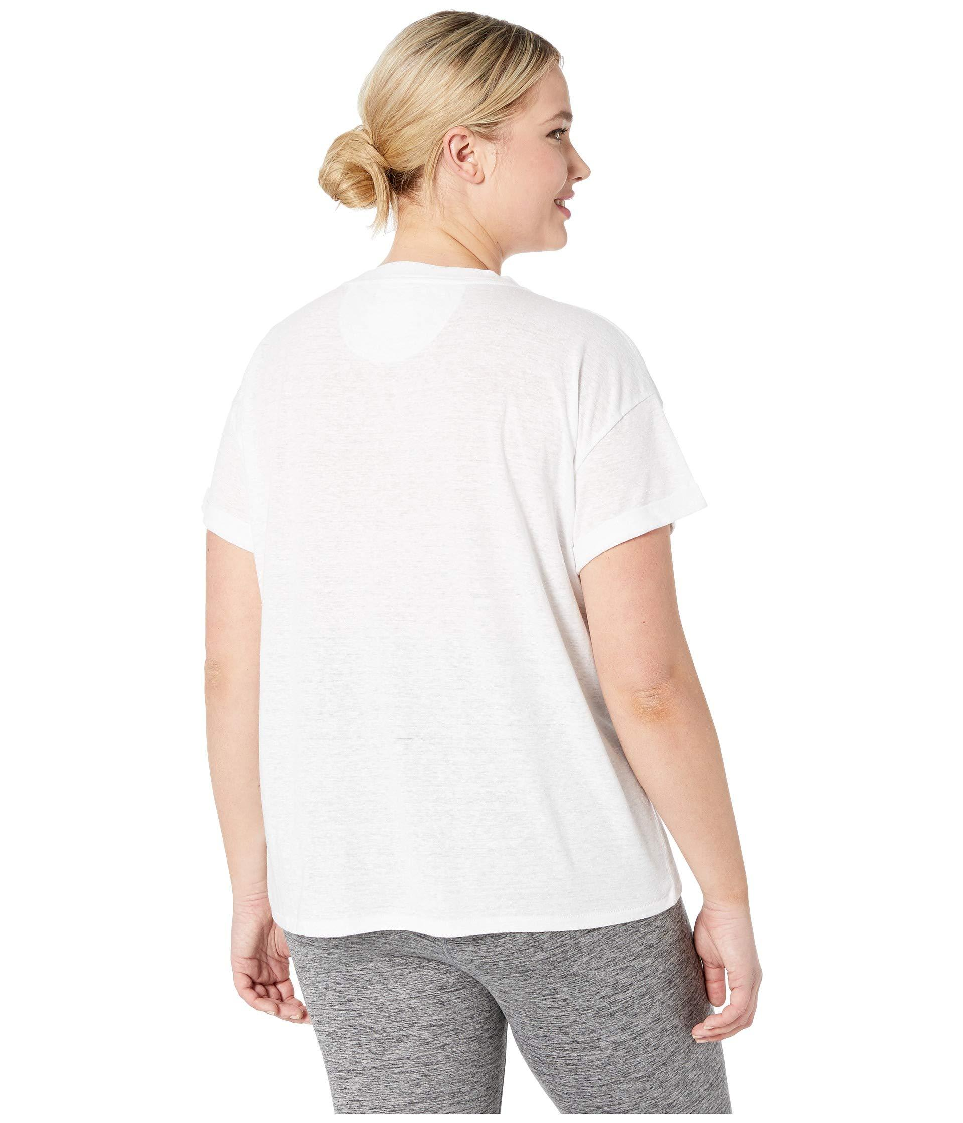 915248f45 Prana - White Plus Size Cozy Up T-shirt (charcoal Heather) Women's T. View  fullscreen