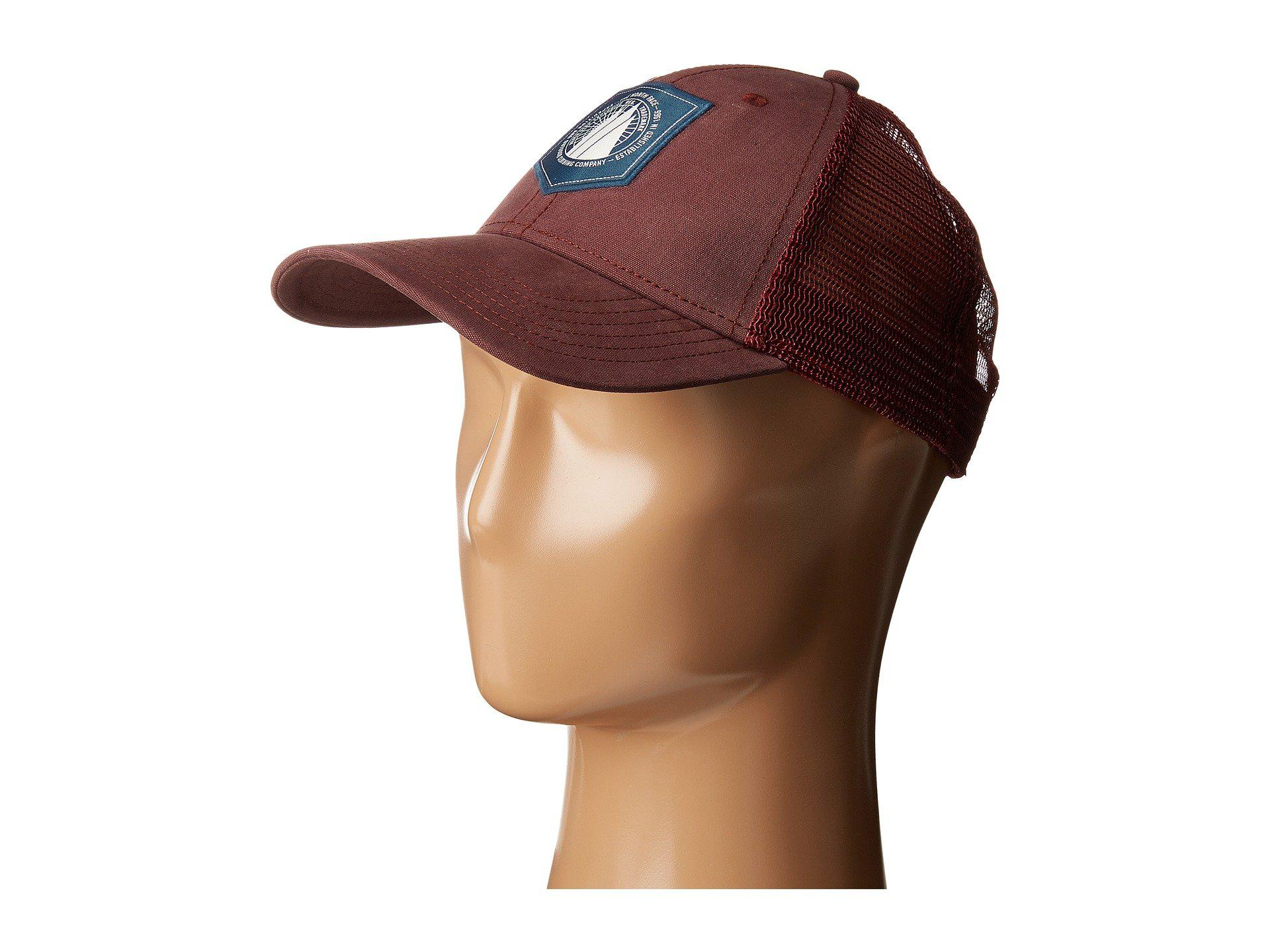 Lyst - The North Face Mudder Trucker Hat (sequoia Red shady Blue ... 0f655e7e516f