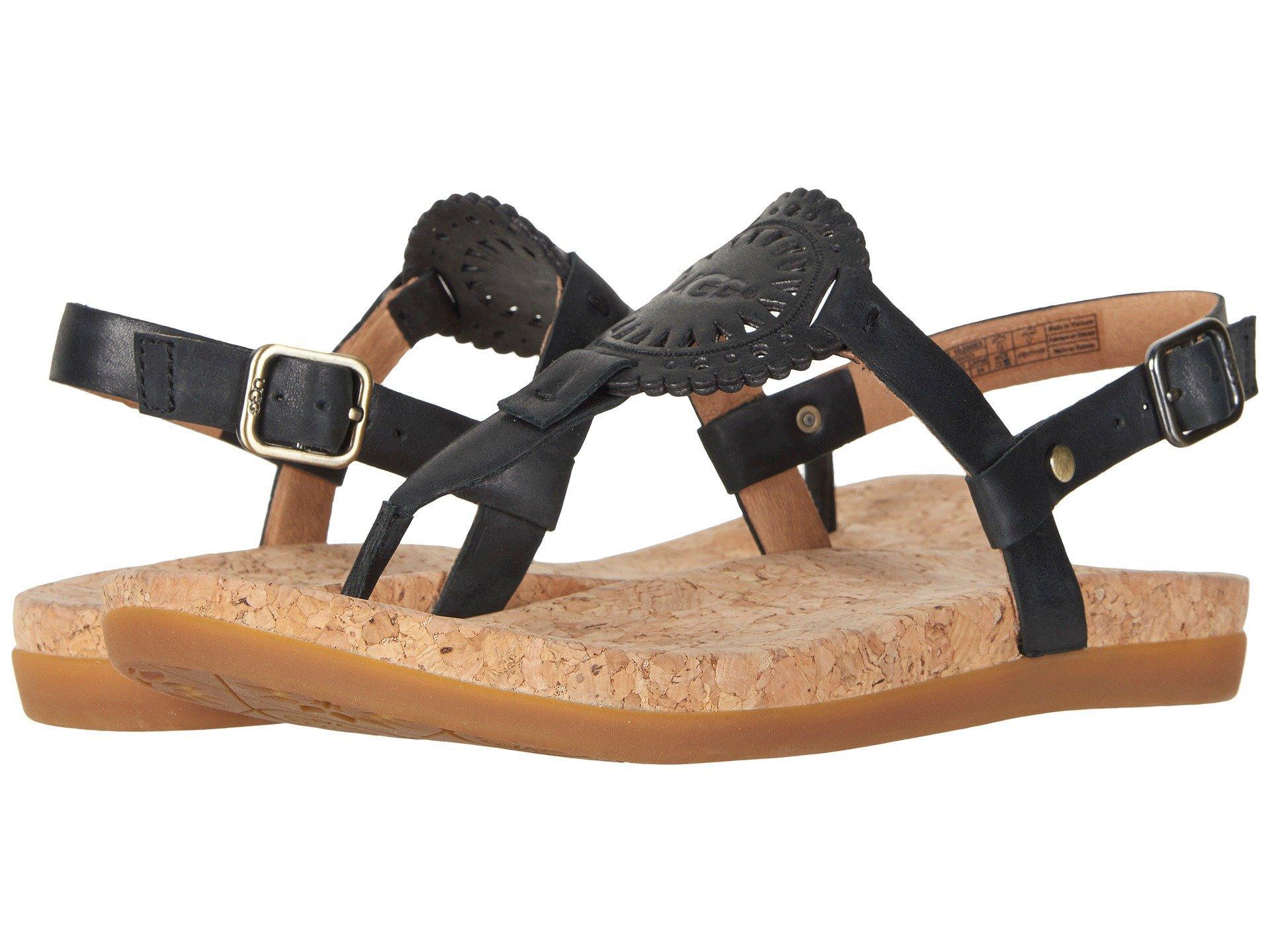a98cd657e8b0 Lyst - UGG Ayden Ii (gold) Women s Sandals in Black