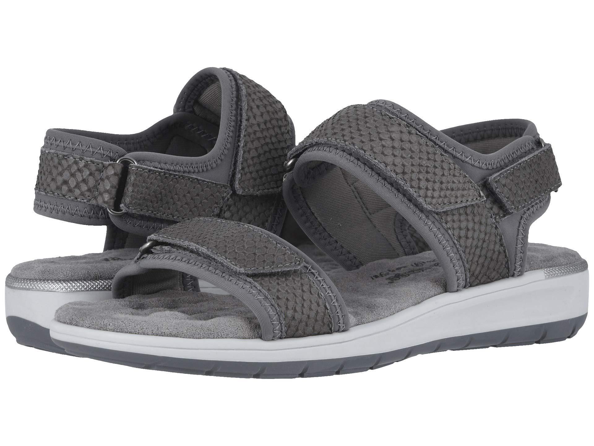 0bd02940f913 Walking Cradles. Shea (slate Gray Lycra matte Snake Print) Women s Sandals