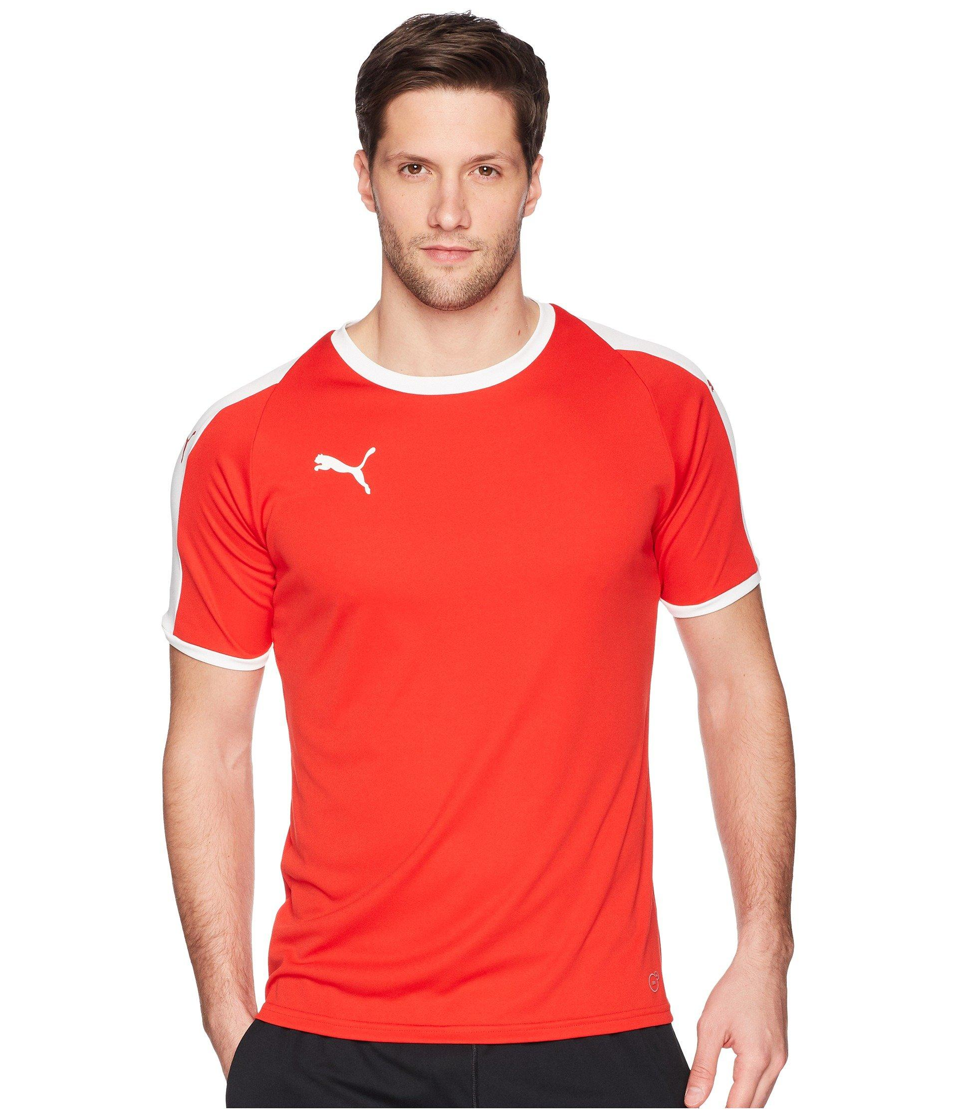 PUMA Synthetic Liga Jersey in Red/White (Red) for Men - Save 61 ...