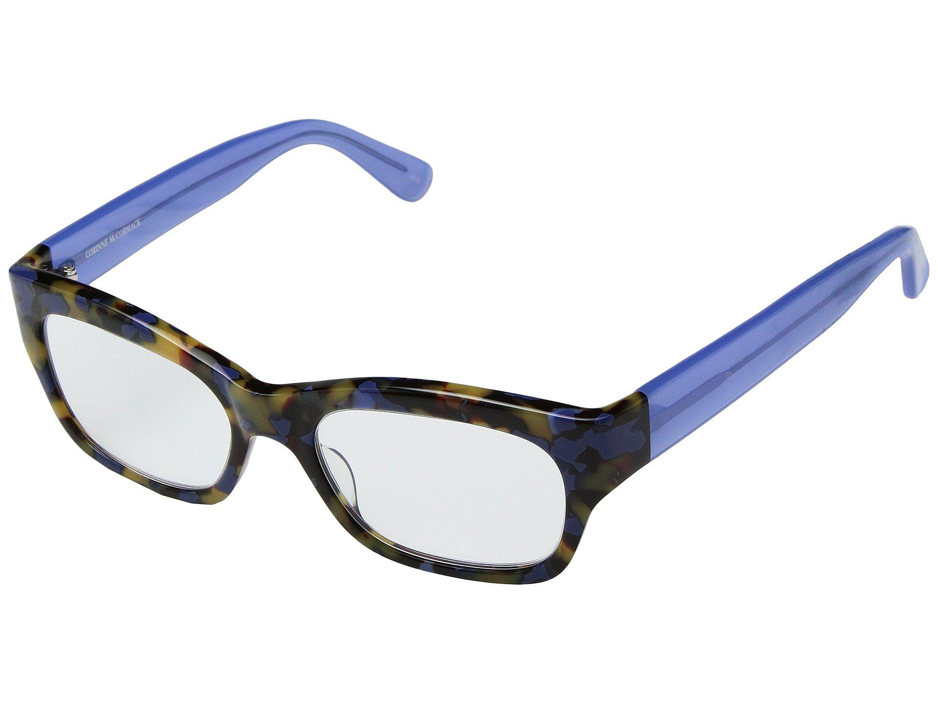 4417783f1dd Corinne Mccormack. Women s Blue Suzy (tortoise) Reading Glasses Sunglasses
