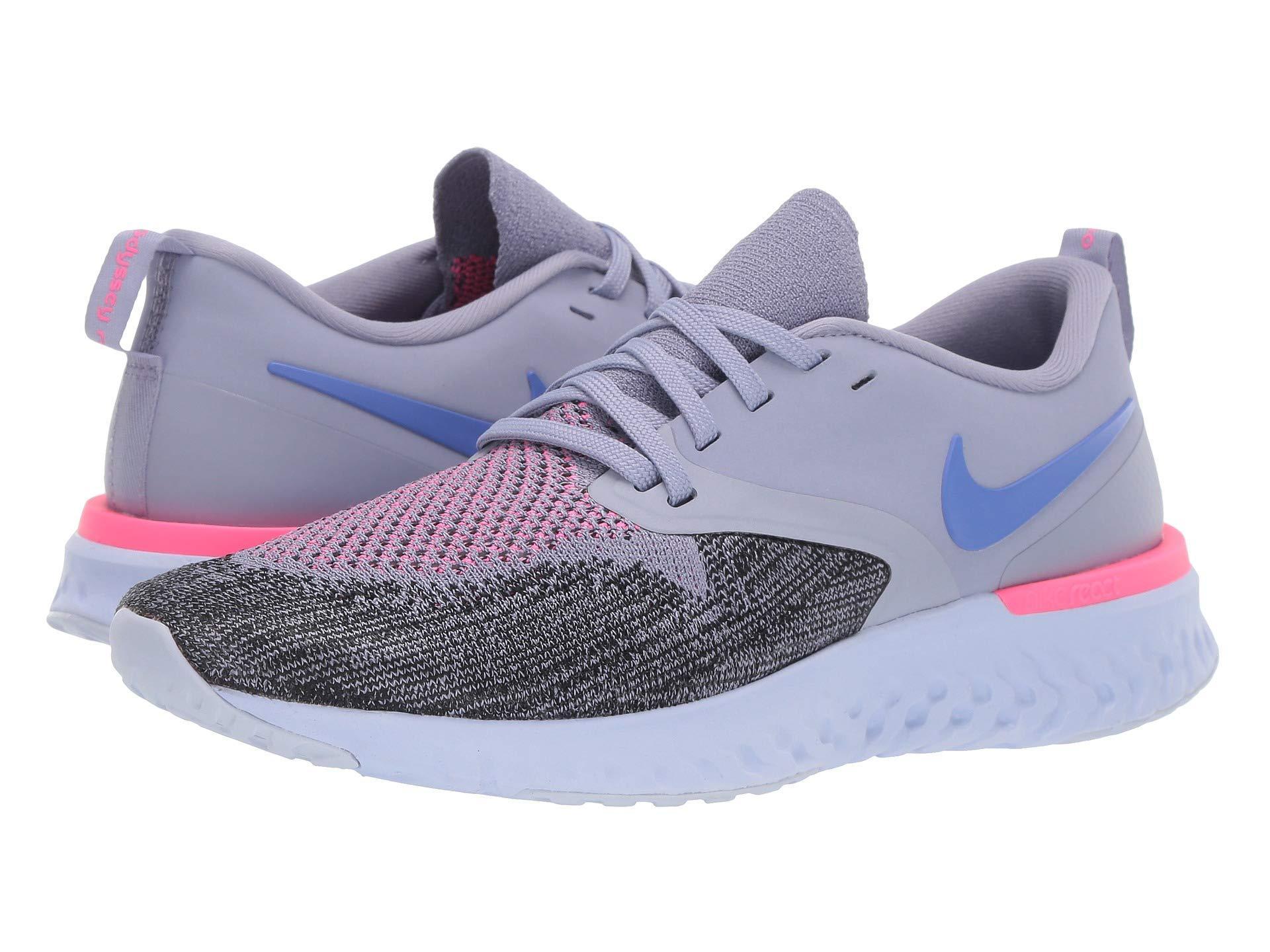Lyst - Nike Odyssey React Flyknit 2 (black white) Women s Running ... 8bd6a974b