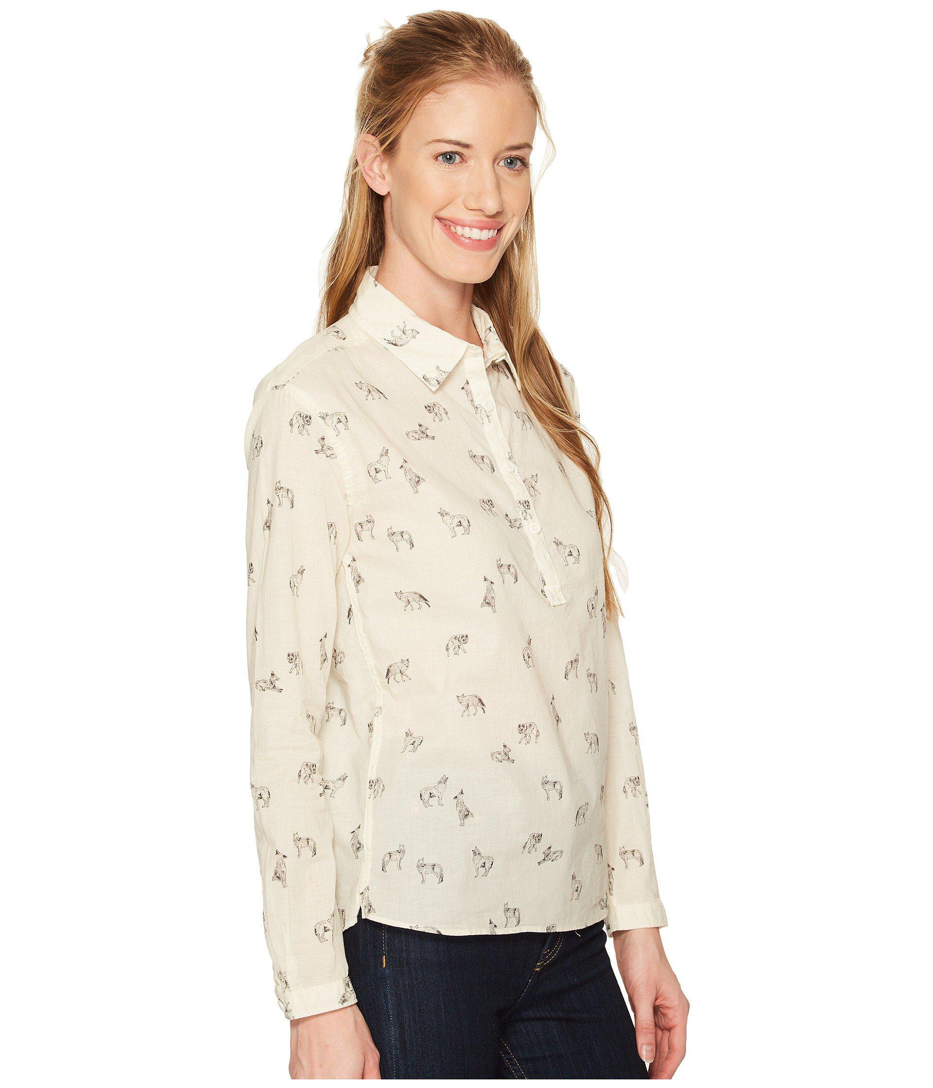 542386ea2 Women's White Barilles Pullover Shirt