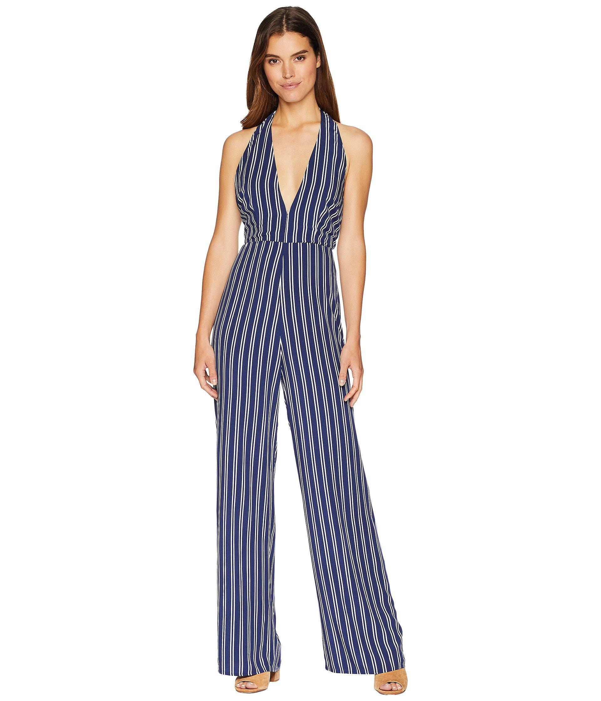 5432f5101f49 Lyst - Jack BB Dakota All The Way Up Striped Rayon Challis Jumpsuit ...