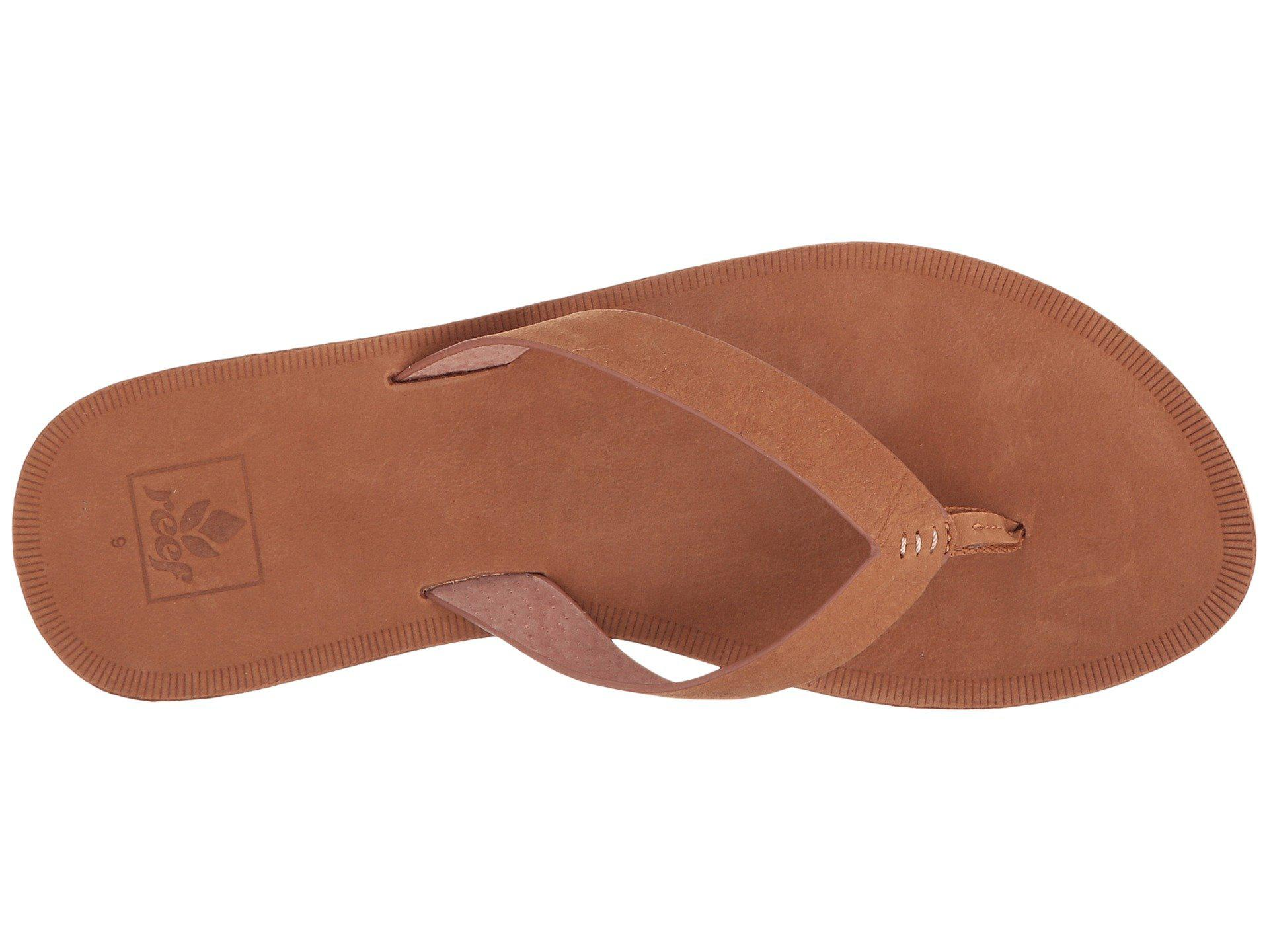 632743693 Lyst - Reef Voyage Le (saddle) Women s Sandals in Brown