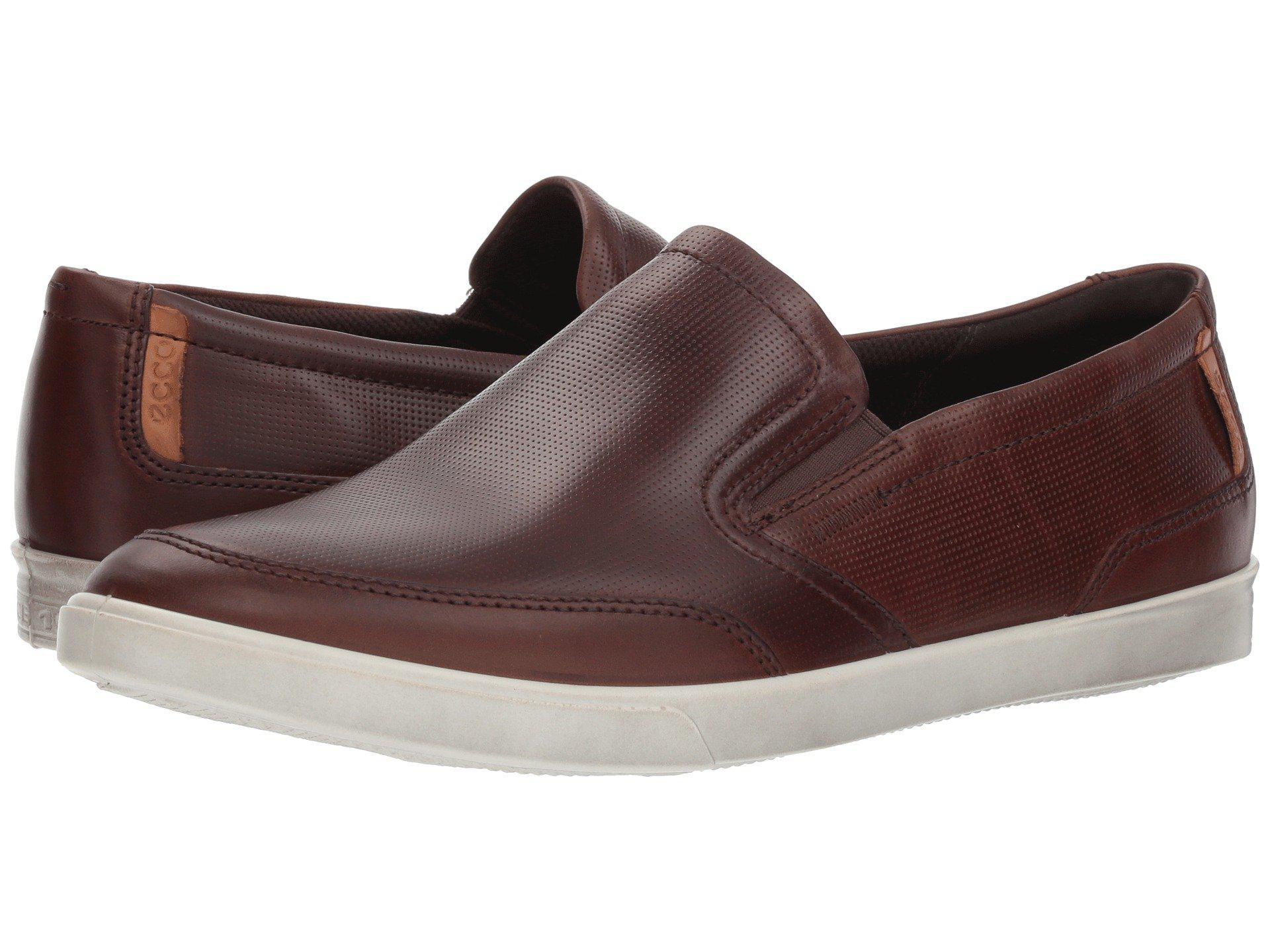 Ecco Leather Collin Casual Slip On