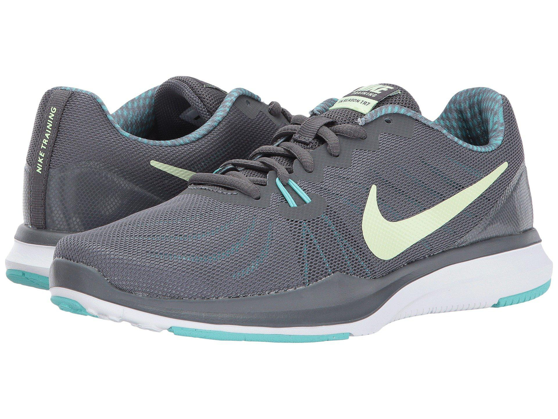 new style 1bf70 7e272 Lyst - Nike In-season 7 Cross Trainer, Dark Grey barely Volt-aurora ...