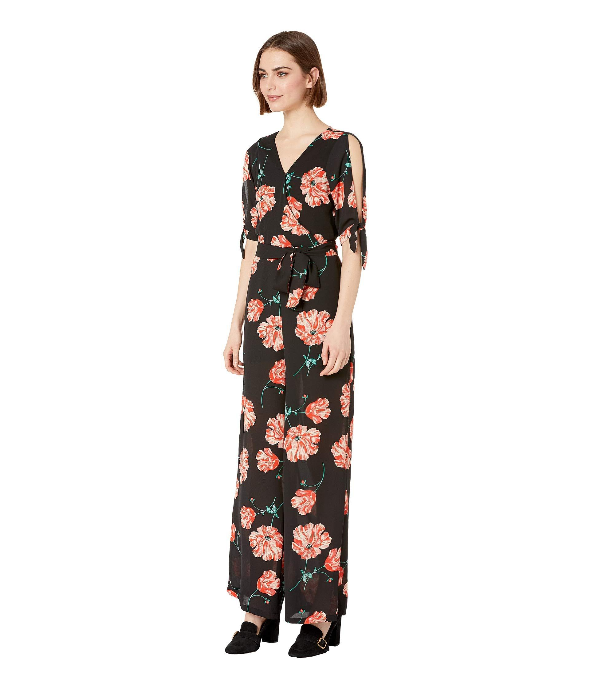 171a601a3c8f88 Jack BB Dakota Do You Poppy Printed Jumpsuit (black) Women's Jumpsuit &  Rompers One Piece in Black - Lyst