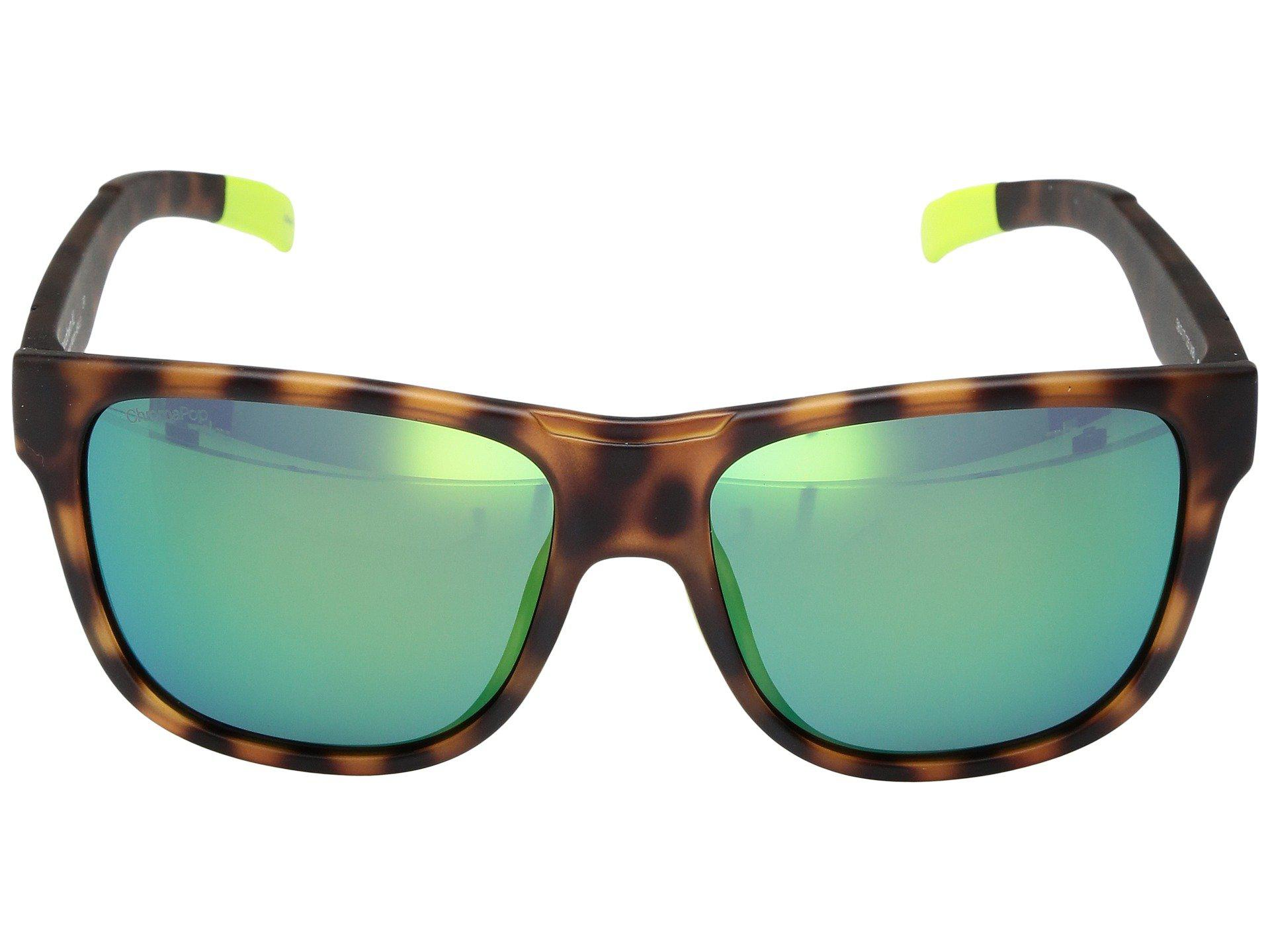 f0d4cd8d4b78 Smith Optics - Multicolor Lowdown Xl (matte Tortoise Neon chromapop Sun  Green Mirror Lens. View fullscreen