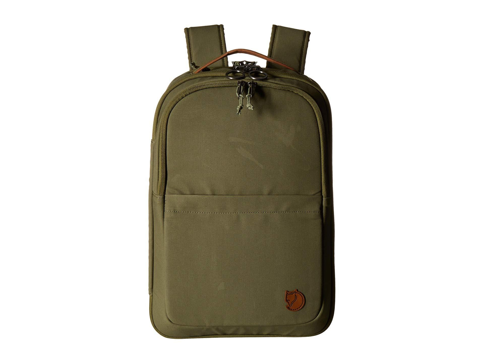 e0ece8799e95 Lyst - Fjallraven Travel Pack Small (black) Backpack Bags in Green ...