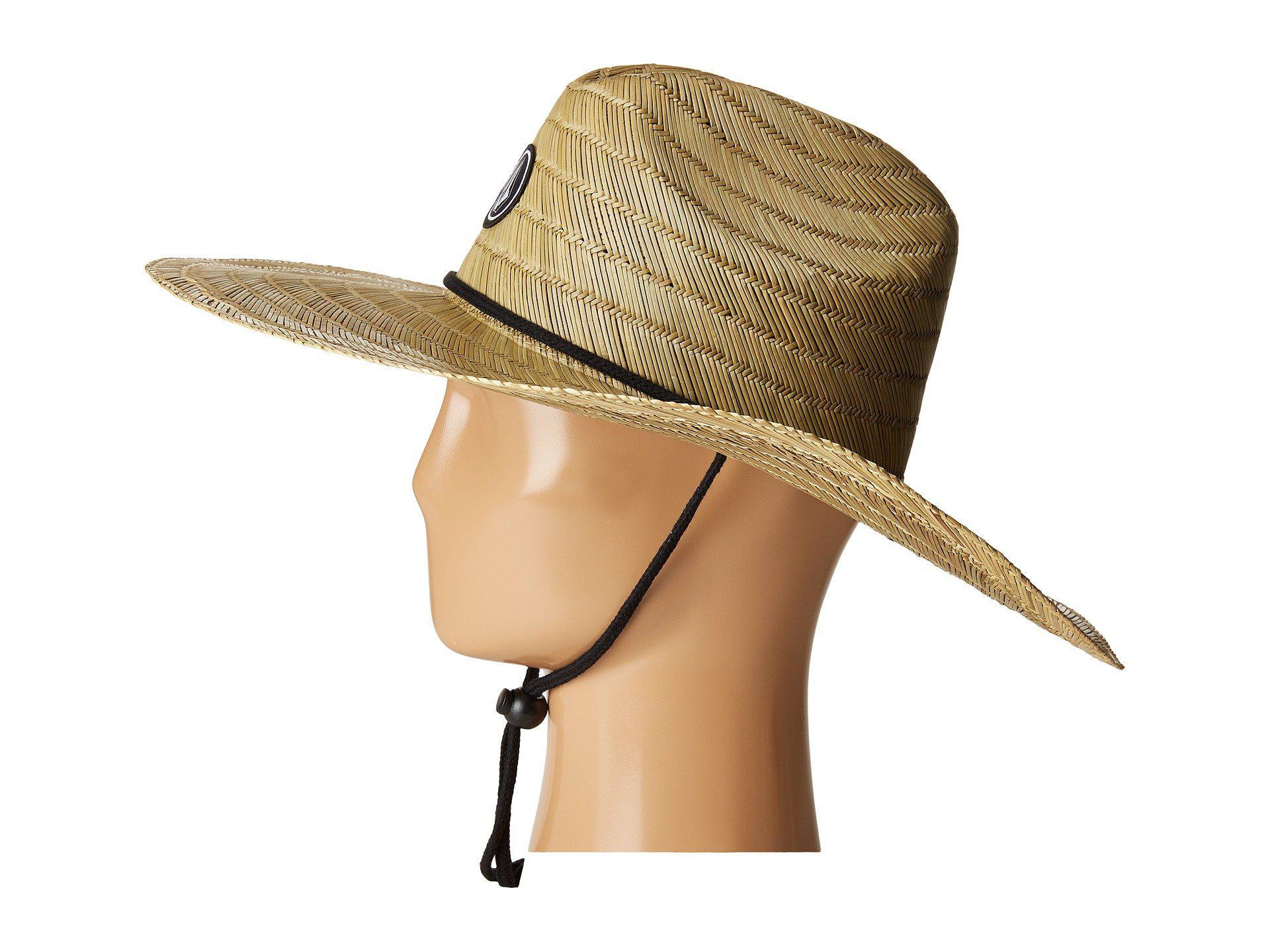 733fdcc2c Volcom Quarter Straw Hat (natural) Caps for men