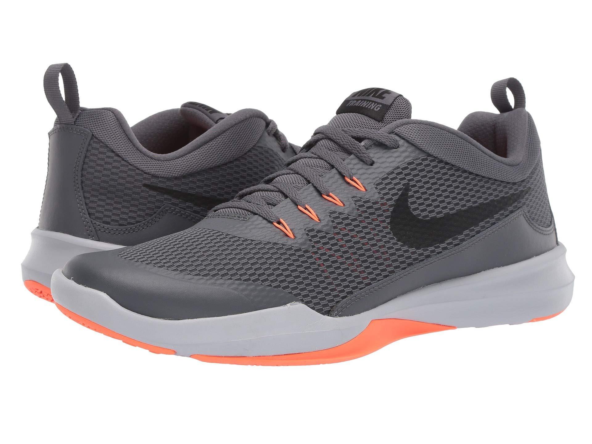 207dac814a5ee Nike. Gray Legend Trainer (dark Grey black hyper Orange wolf Grey) Men s  Cross Training Shoes
