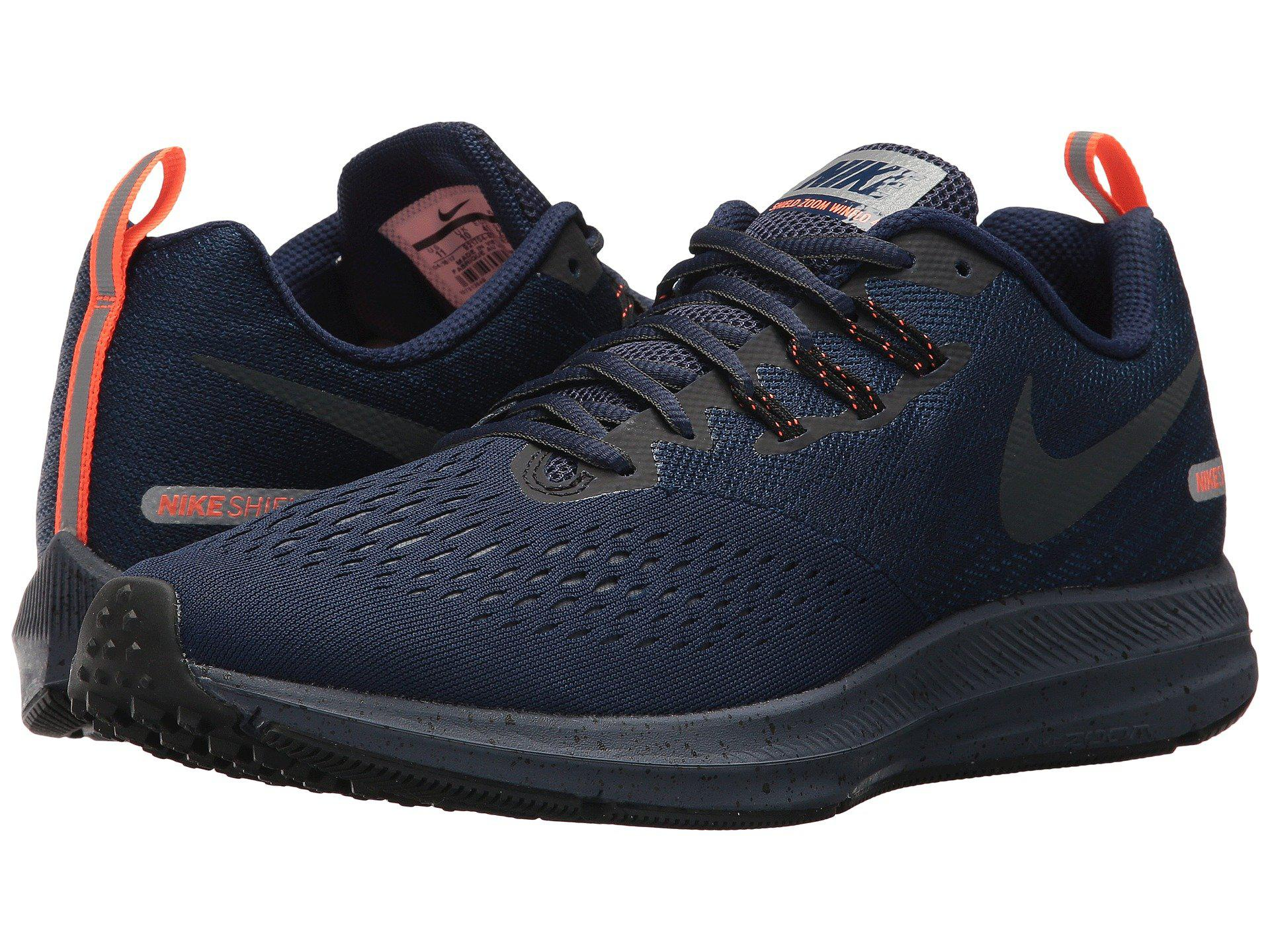 sneakers for cheap 0d5a4 ab52c Nike Blue Air Zoom Winflo 4 Shield for men
