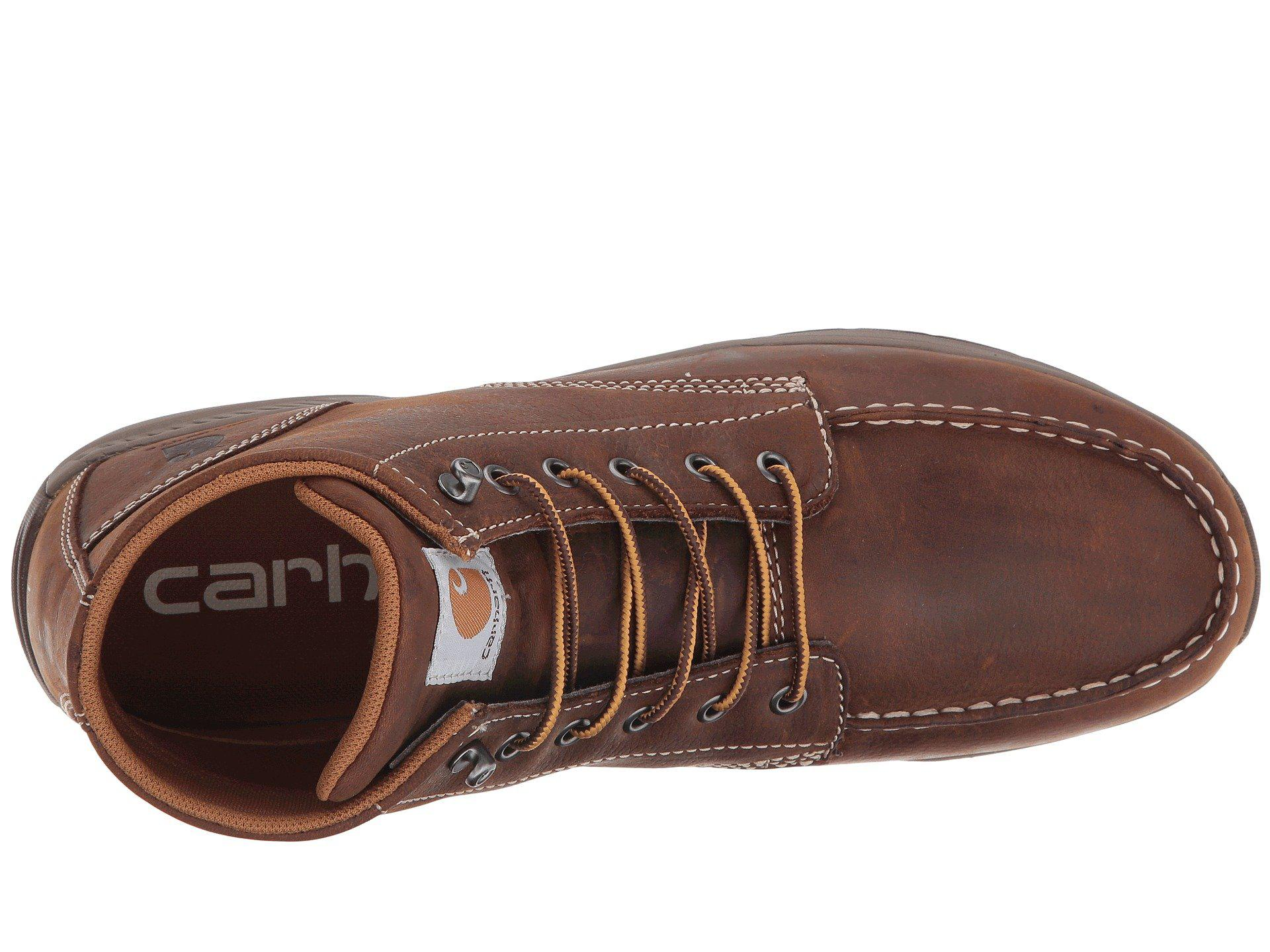 5f095e10ae8 Carhartt - 4 Lightweight Wedge Boot (brown Oil Tanned Leather) Men s Work Boots  for. View fullscreen