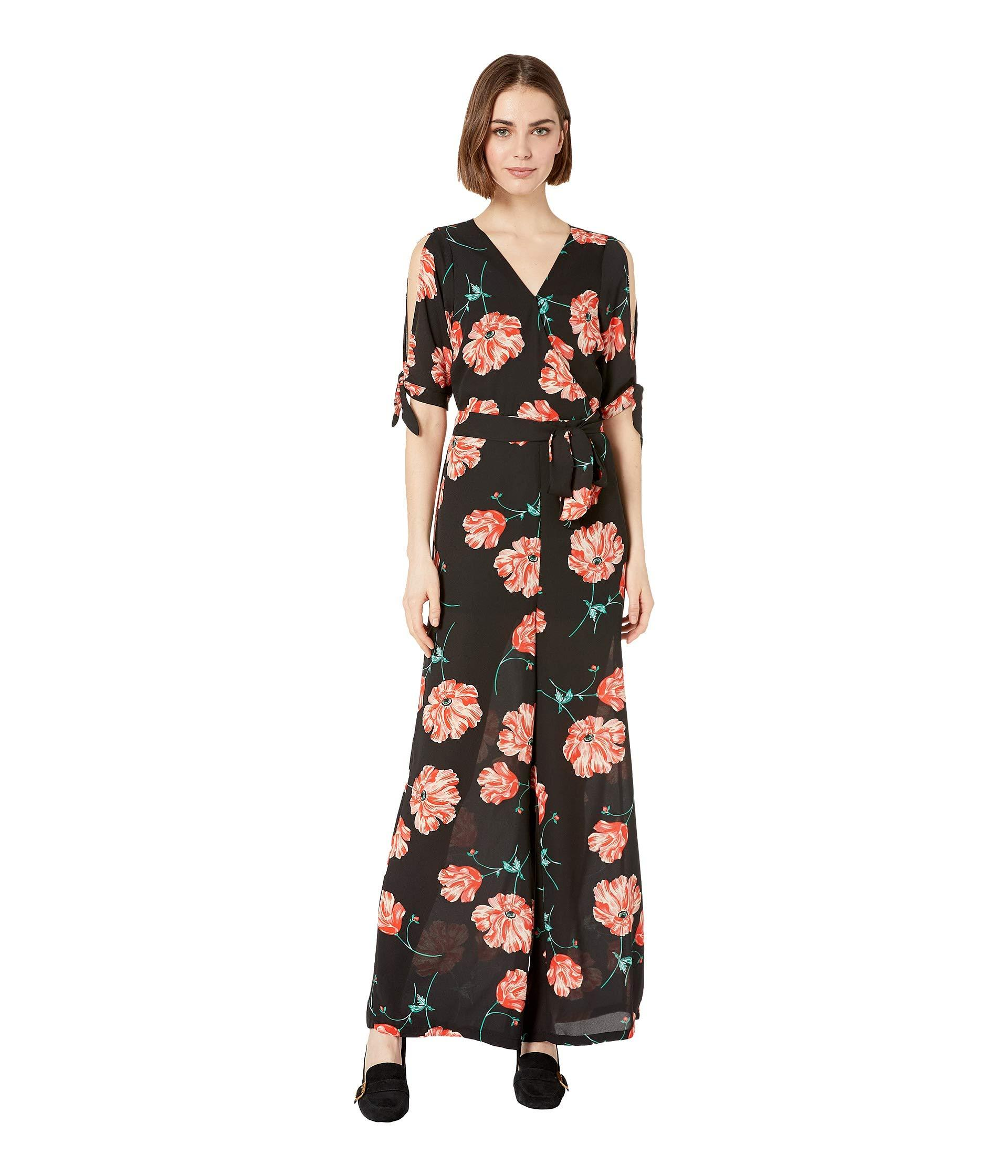 902de16f3213 Lyst - Jack BB Dakota Do You Poppy Printed Jumpsuit (black) Women s ...